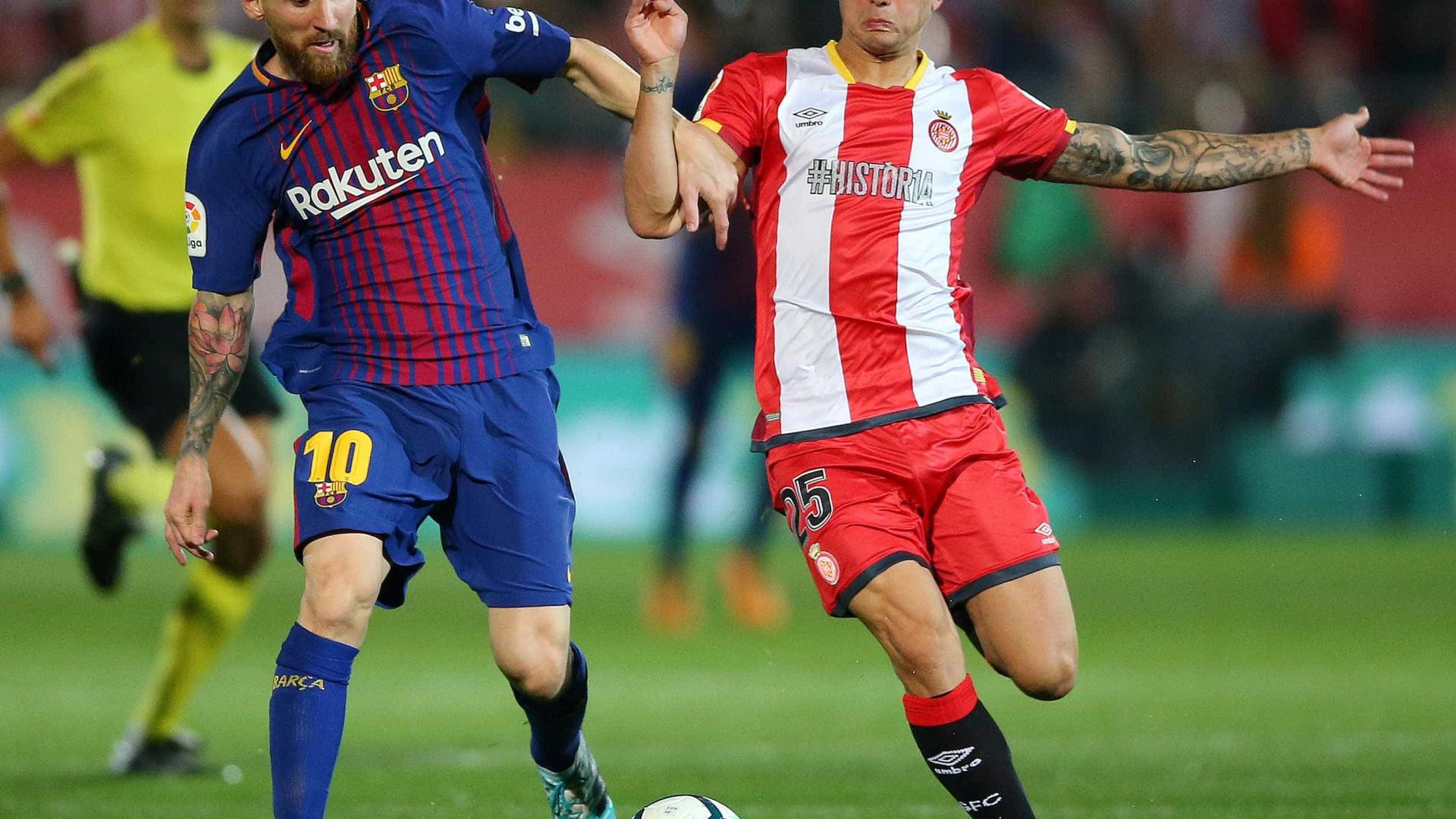 Pablo Maffeo: Tem 20 anos e já mereceu 'interrogatório' de Messi