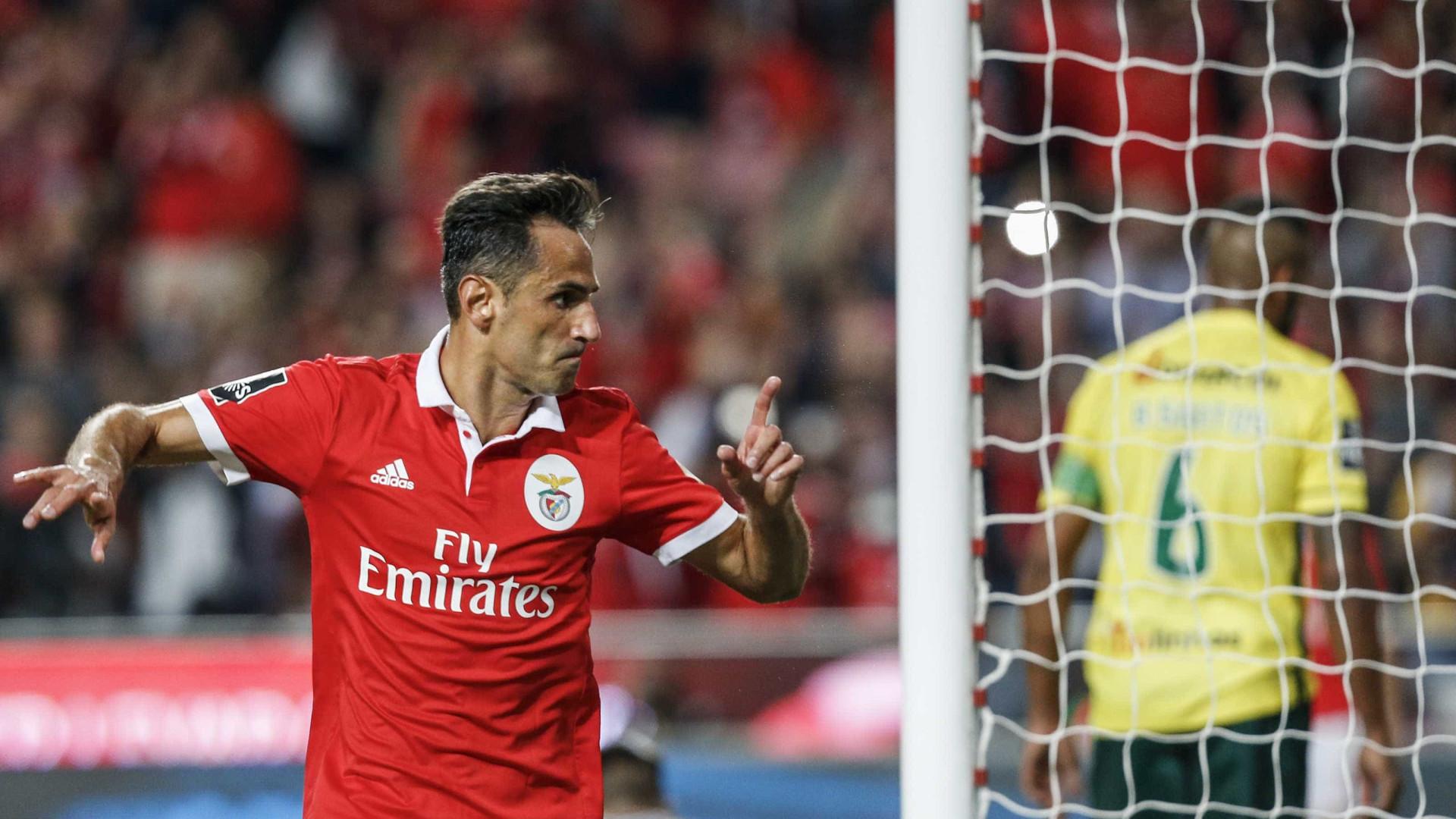 Jonas revela a quem dedicou o golo apontado ao Paços de Ferreira