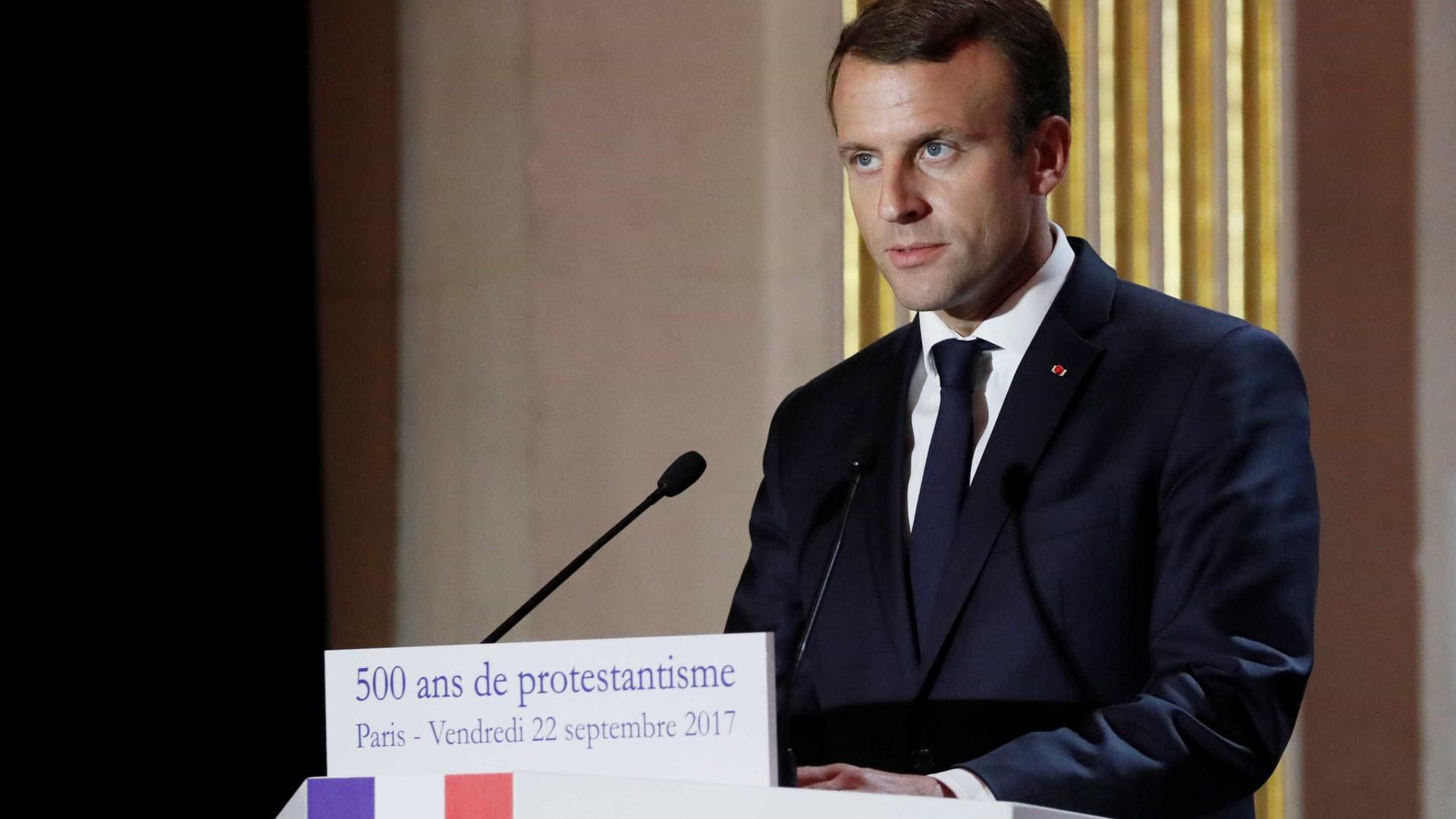 Macron propõe reforma da União Económica e Monetária