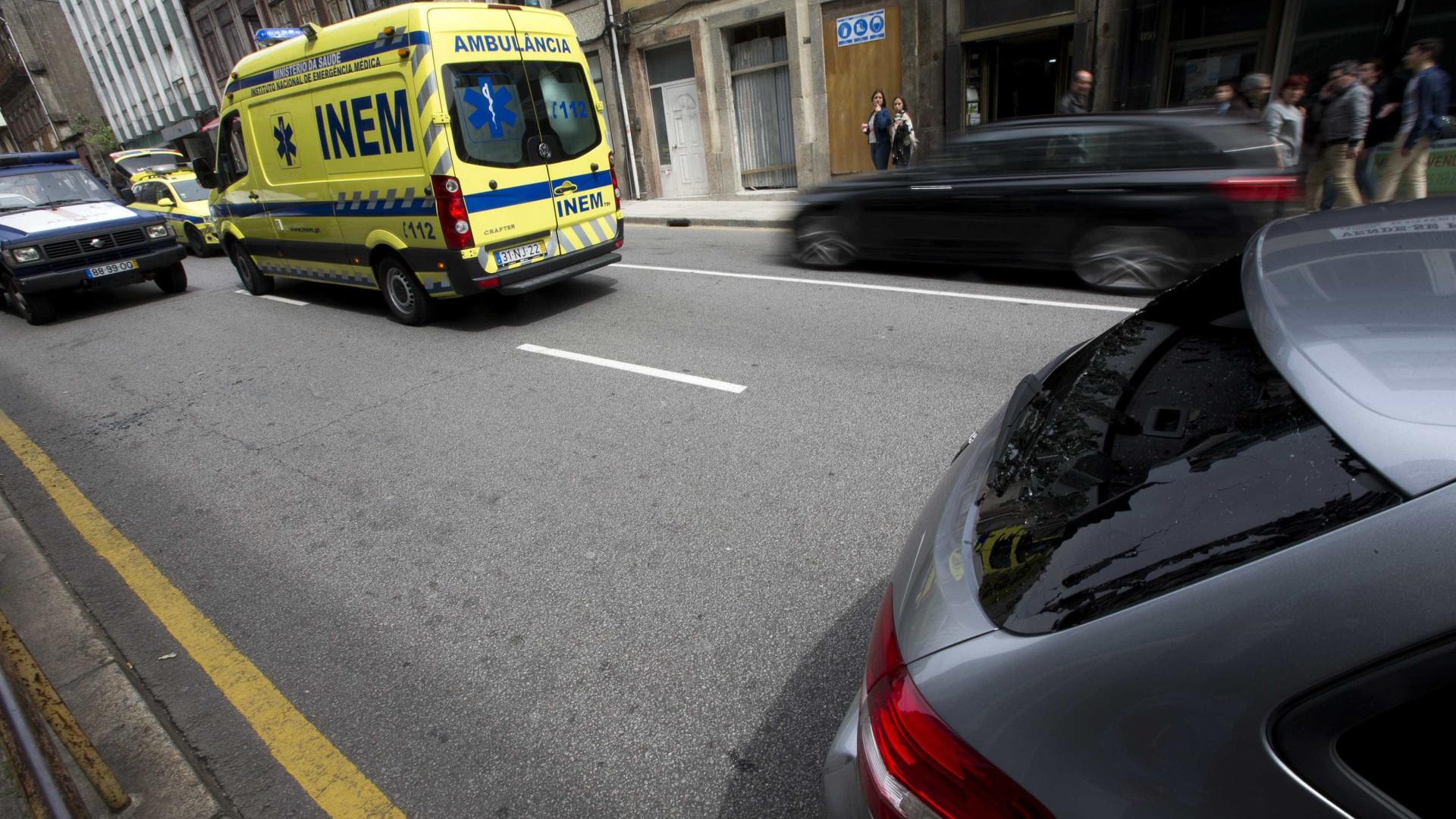 Dois feridos, um em estado grave, após explosão em anexo de habitação