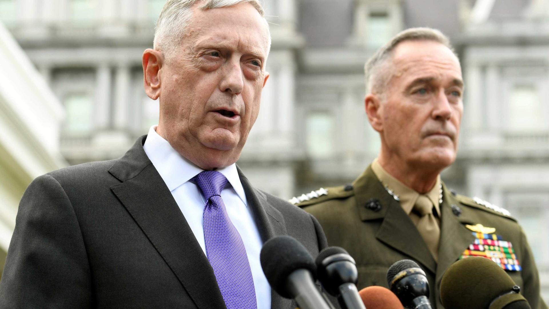 Secretário de Defesa dos EUA com reservas em relação à Força Espacial