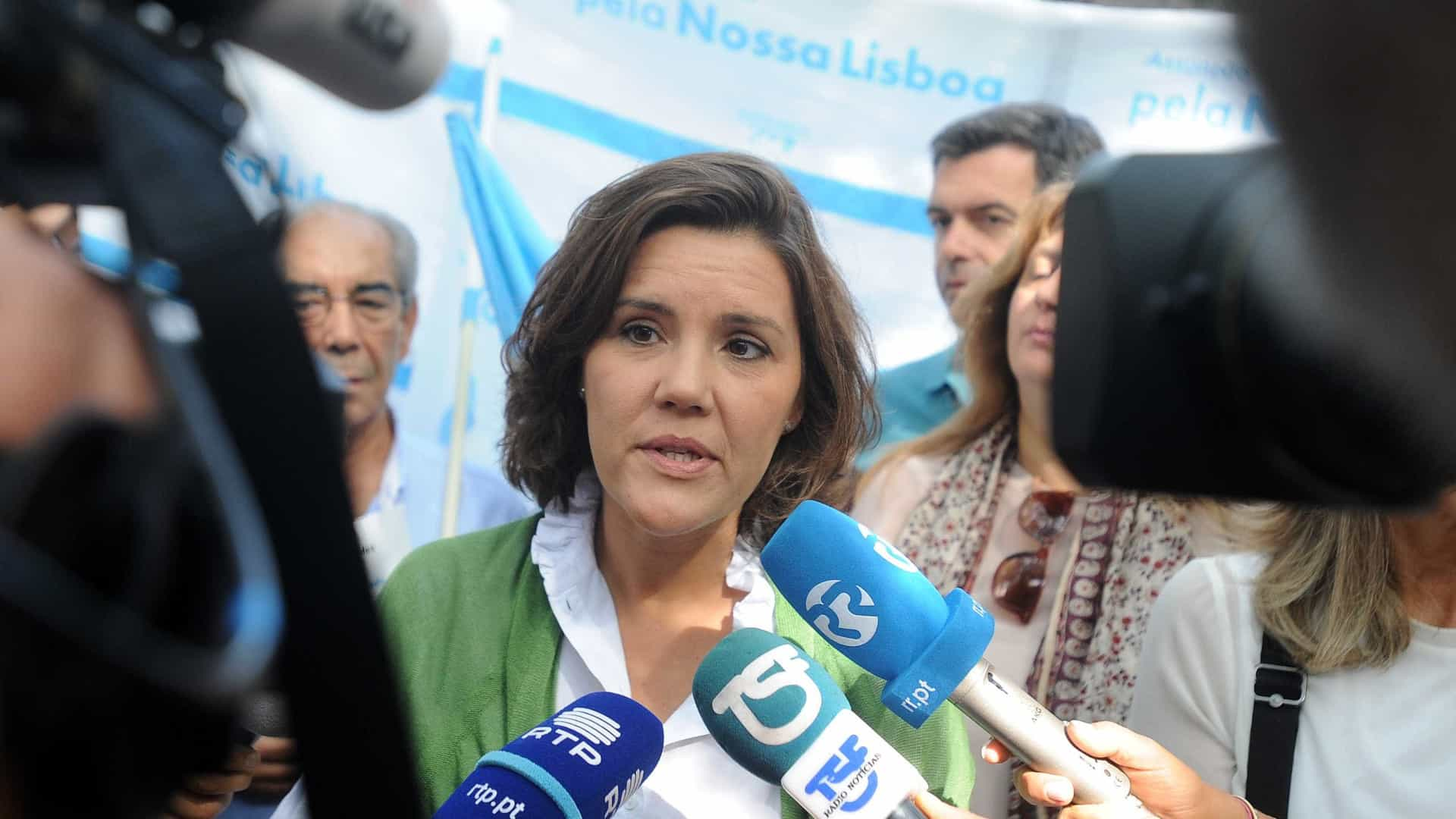 Cristas reforça intenção do CDS de duplicar número de eurodeputados