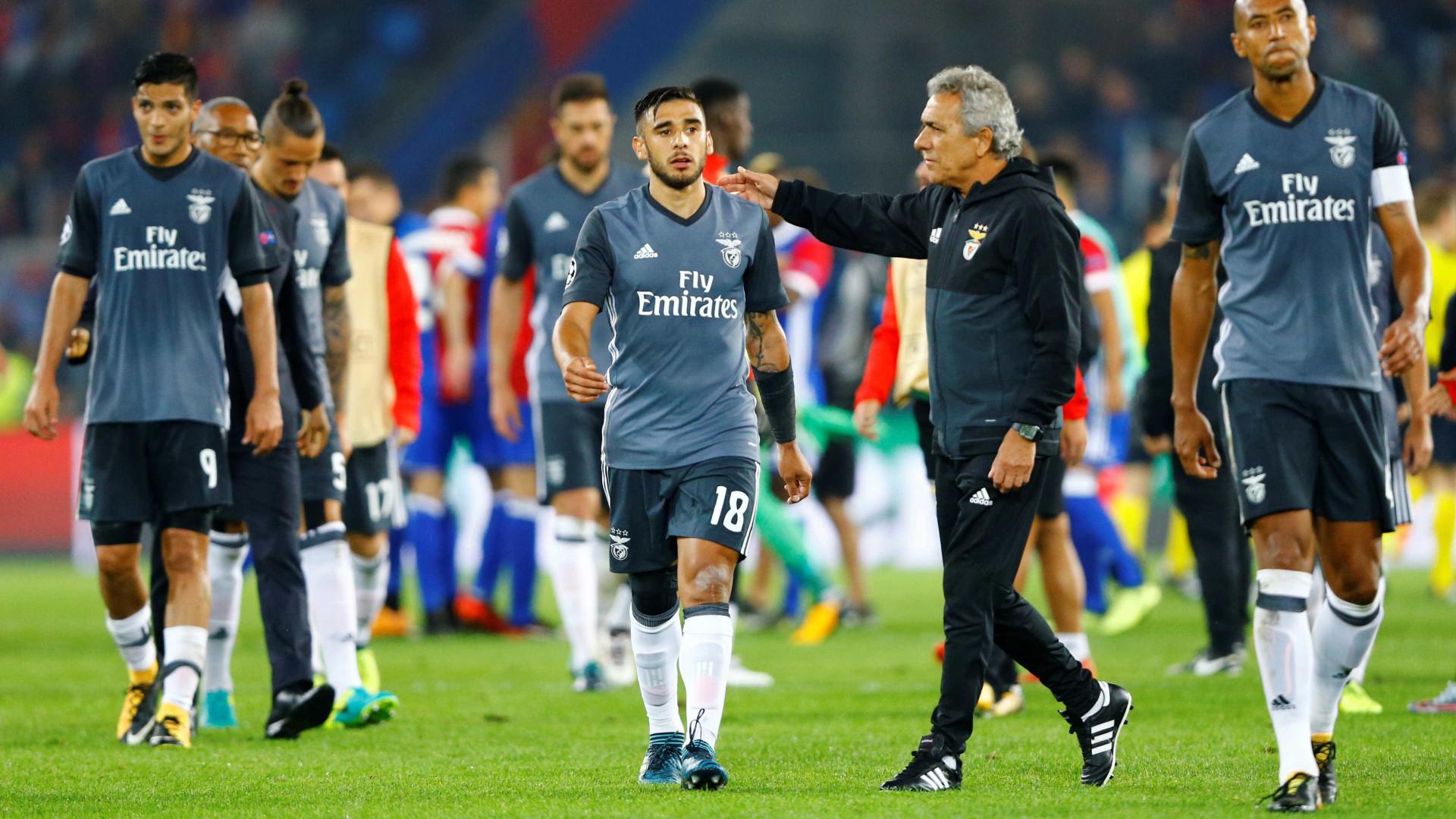 Treinador do Basileia dá favoritismo ao Benfica