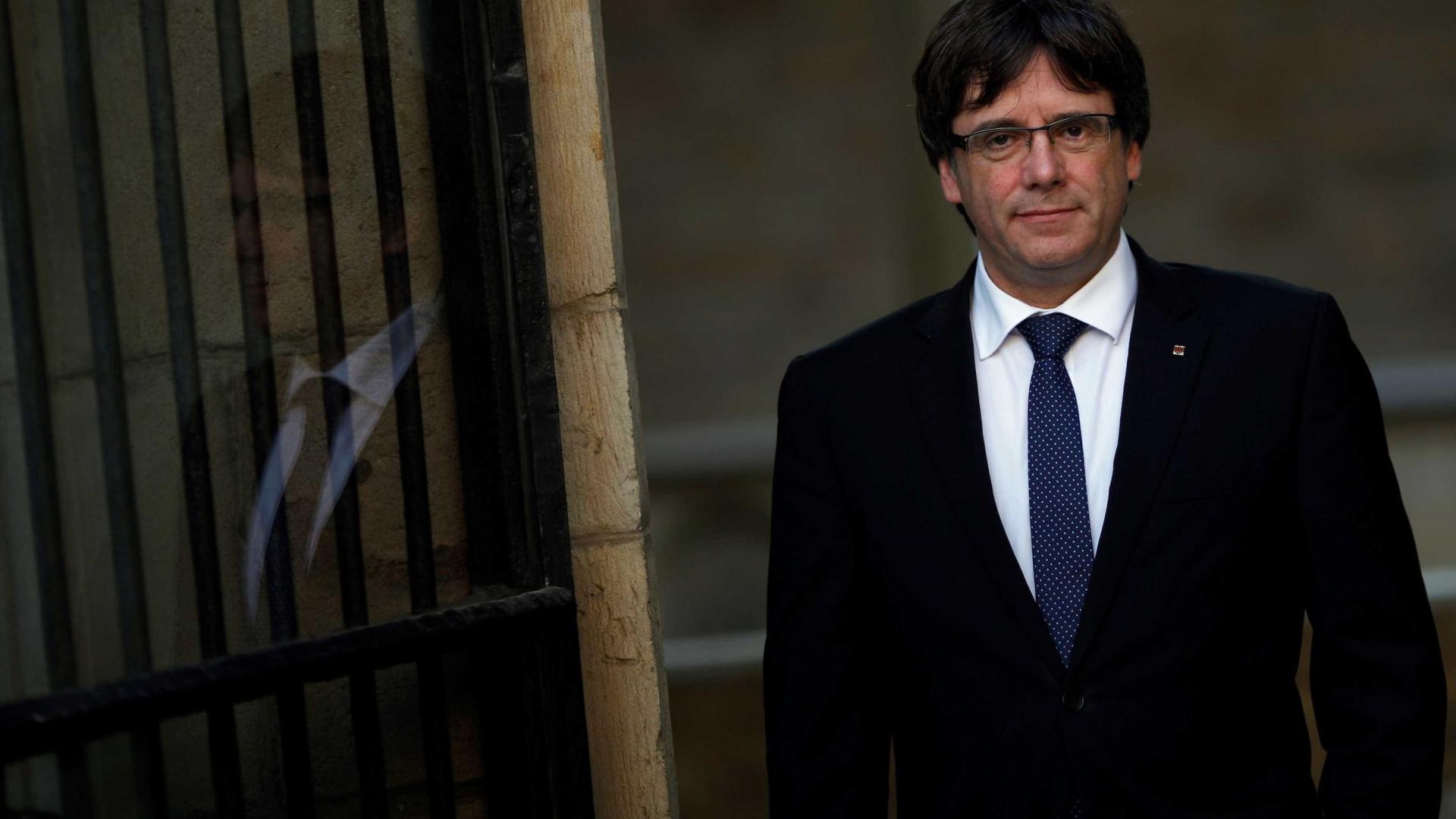 Espanha pediu à Dinamarca a detenção de Puigdemont
