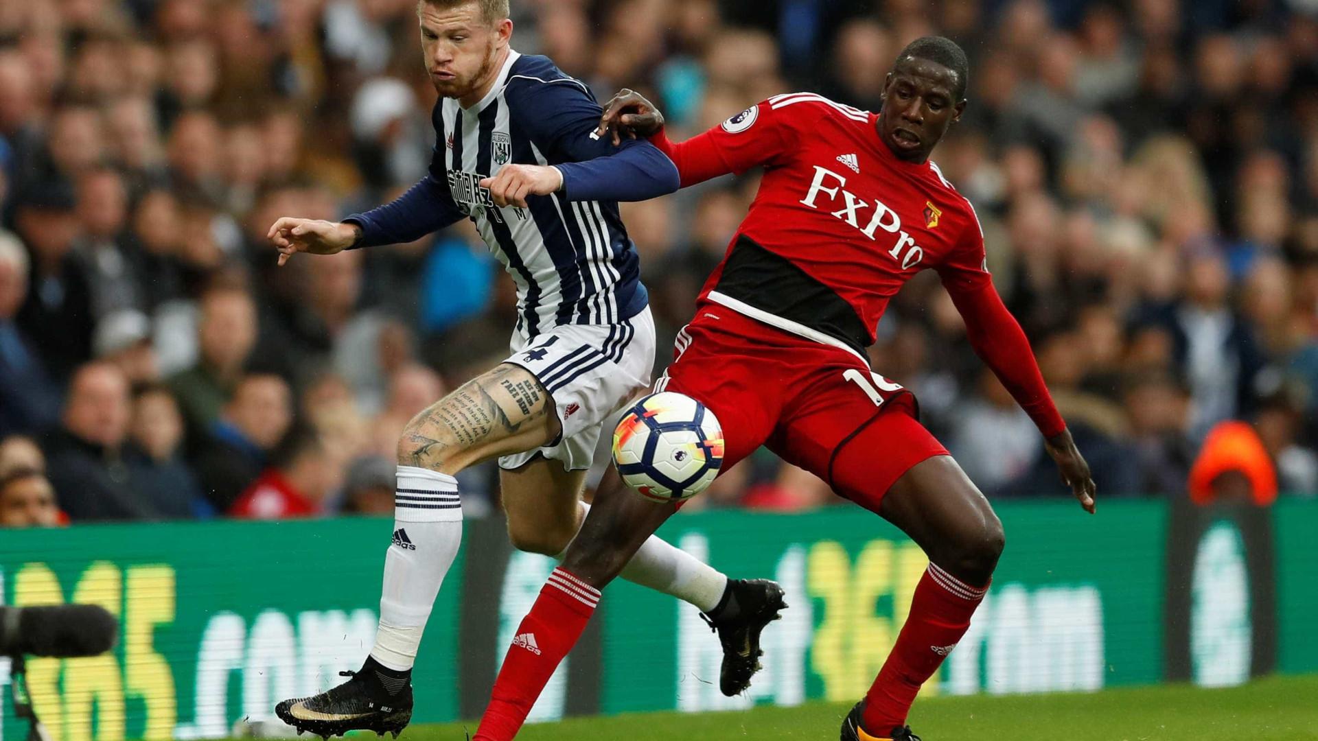 Watford de Marco Silva empata com West Bromwich nos últimos minutos