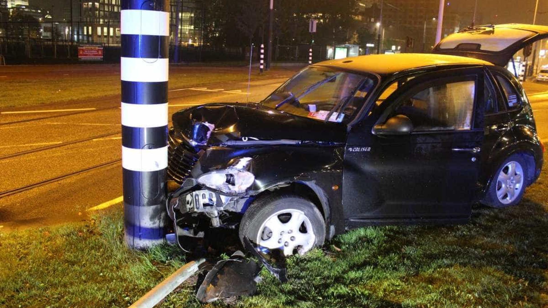 """Aguero recorda acidente: """"Graças ao cinto de segurança posso falar disto"""""""