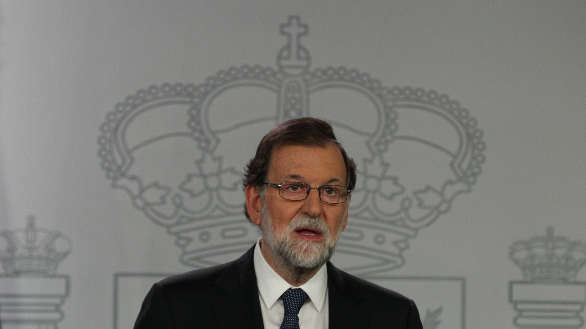 "Catalunha: Rajoy fez último apelo à ""sensatez"" de Puigdemont"
