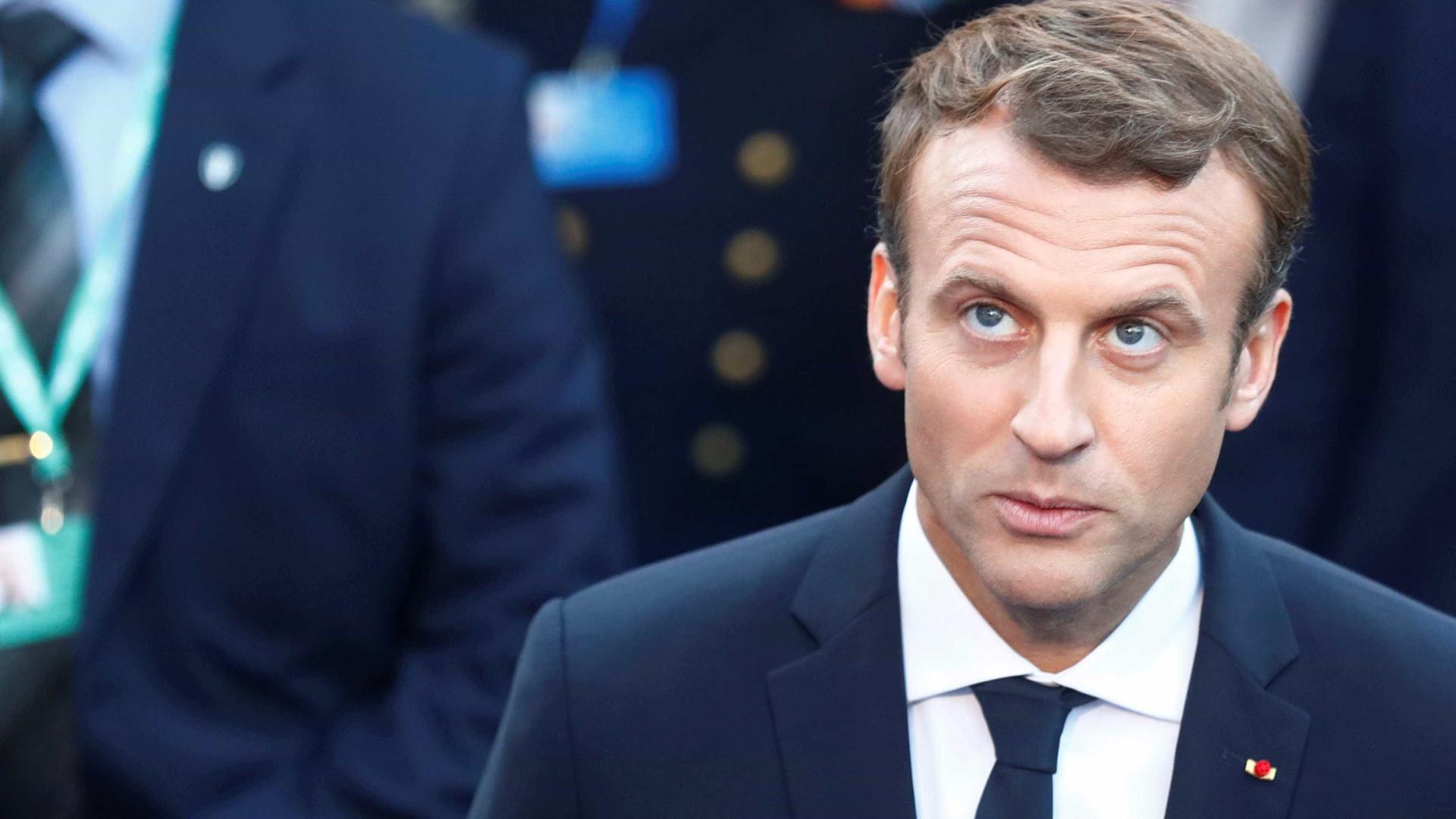 Macron expressou apoio às vítimas da crise de reféns