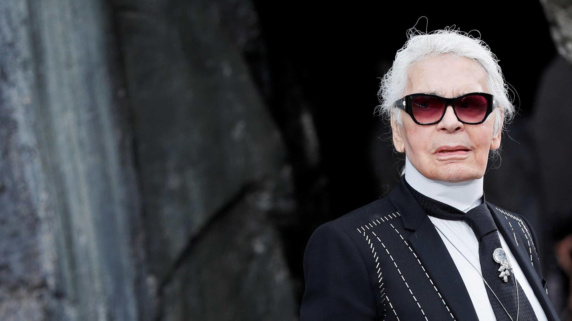 """Karl Lagerfeld: """"Se não queres que te baixem as calças, não sejas modelo"""""""