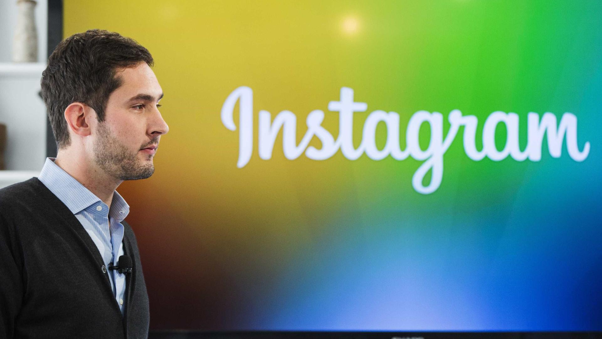"""Fundador do Instagram quis afastar-se das """"selfies e hashtags"""""""