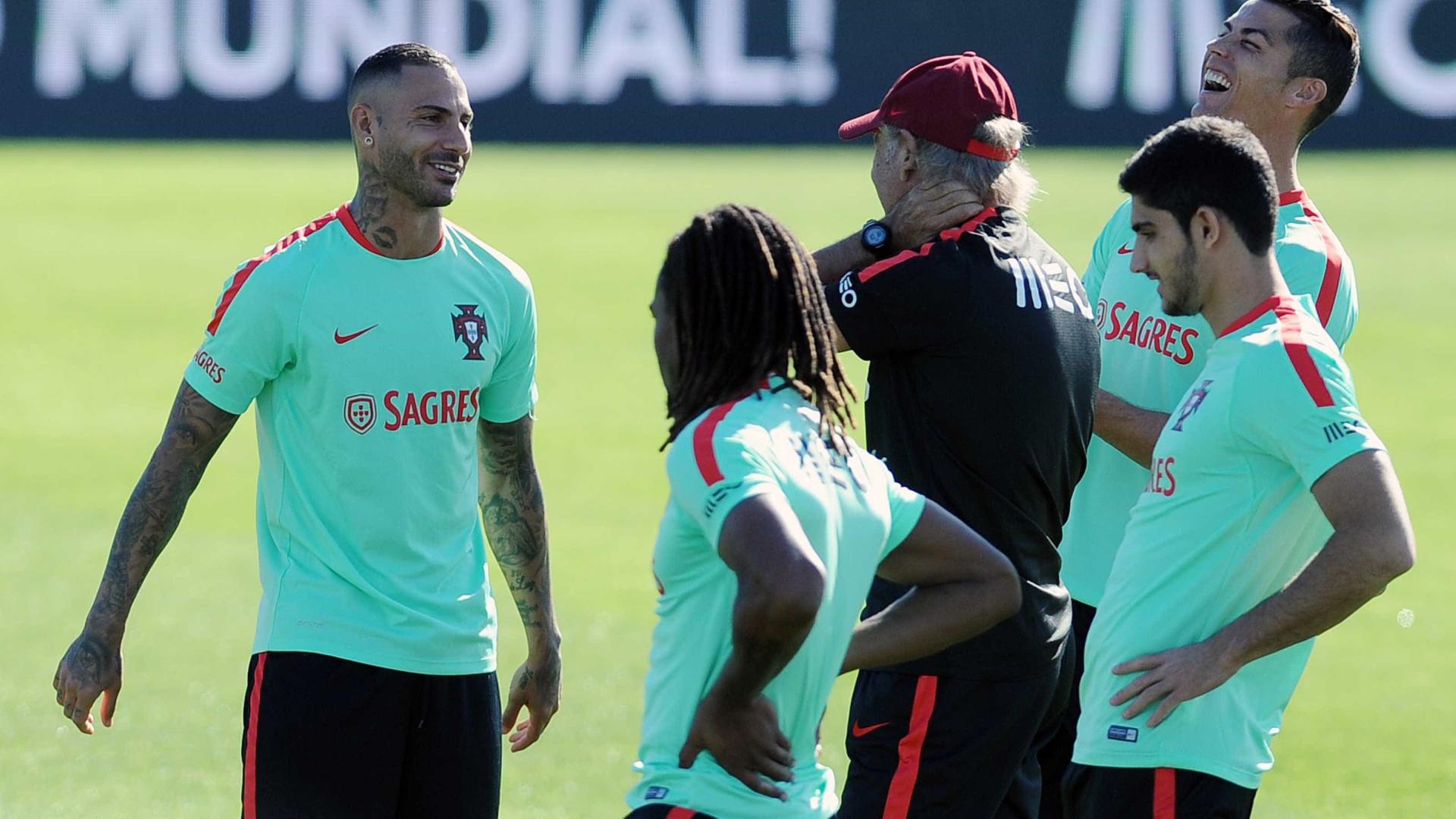 Portugal faz último treino antes da partida com a Suíça a93532eebbee5