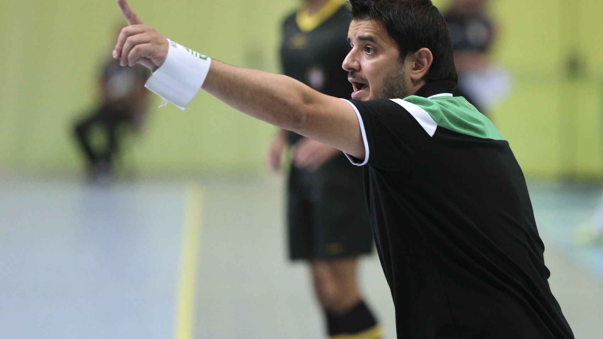 Sporting arranca com triunfo claro frente ao campeão ucraniano — UEFA Futsal Cup
