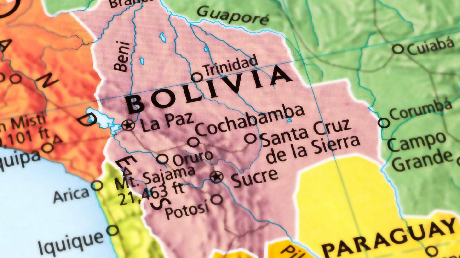 Pelo menos dois mortos e dez feridos em explosão no centro da Bolívia