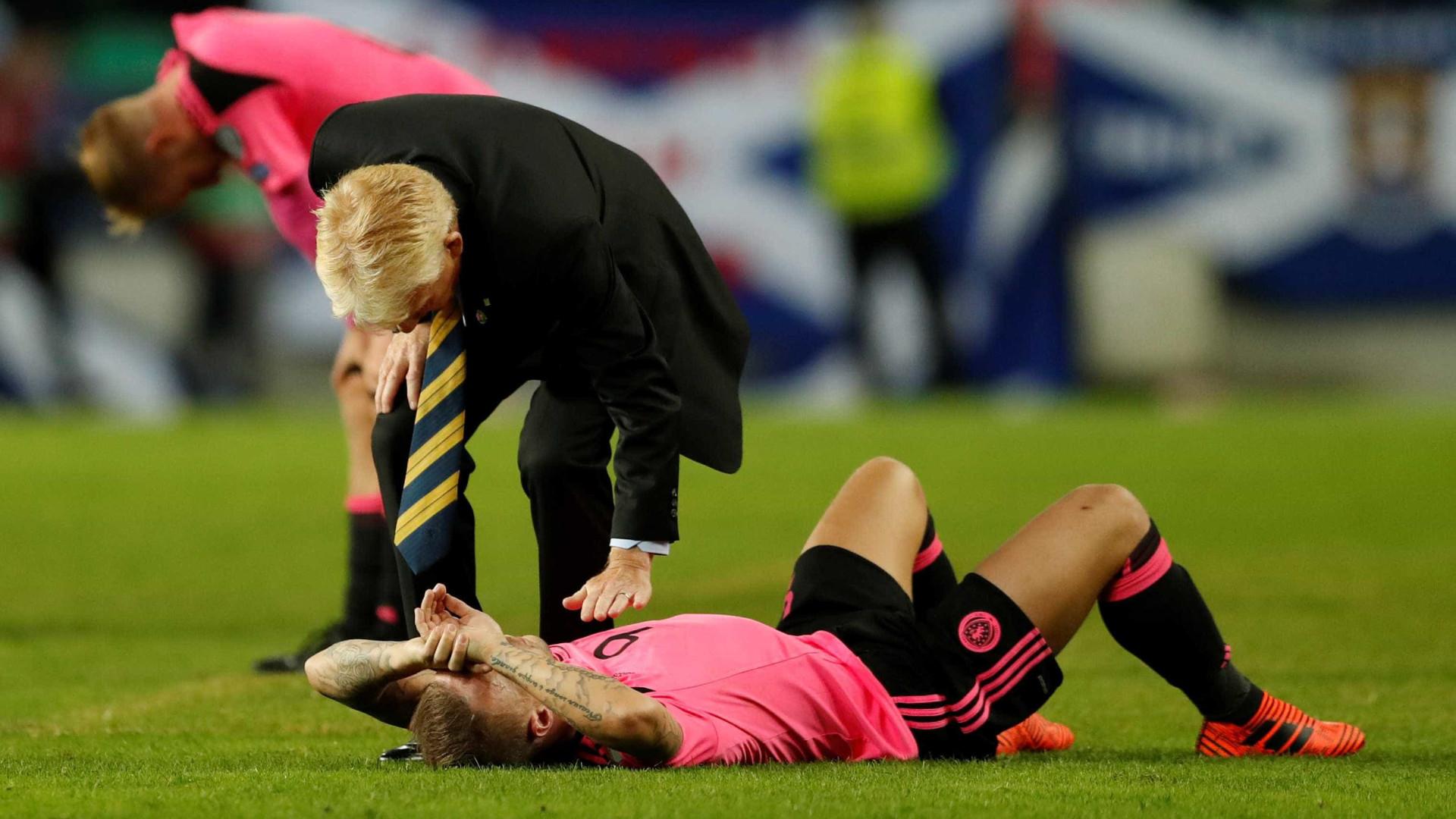 Gordon Strachan deixa cargo seleção da Escócia após falhar Mundial