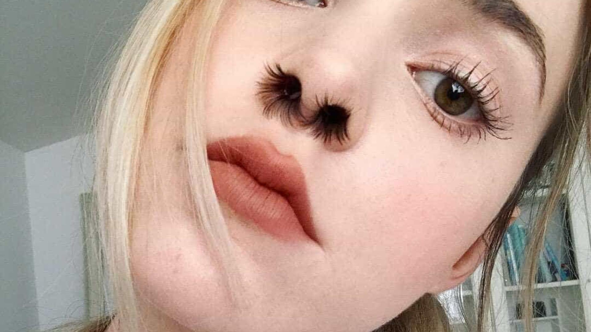 Há uma nova moda em torno dos pelos: Fazer extensões no nariz