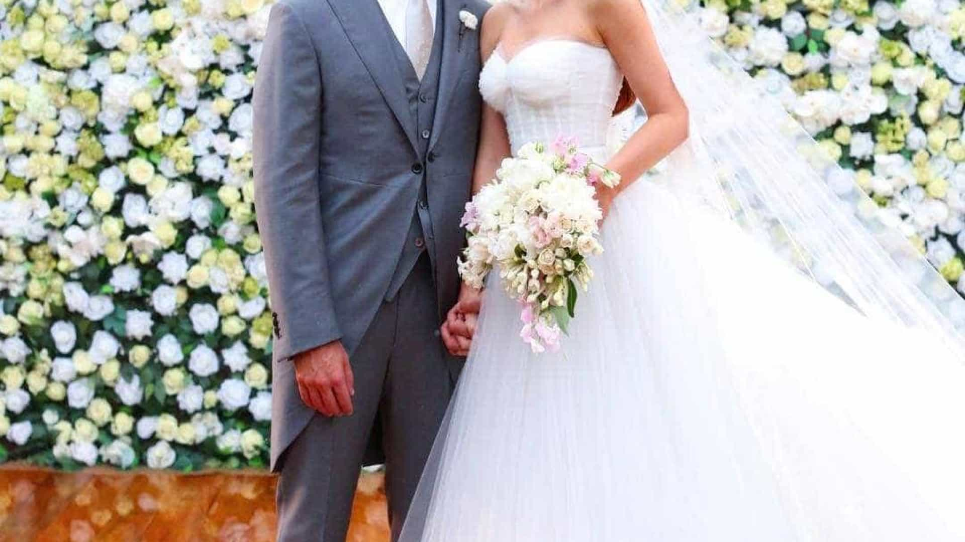 Em dia especial, Marina Ruy Barbosa recorda casamento e declara-se