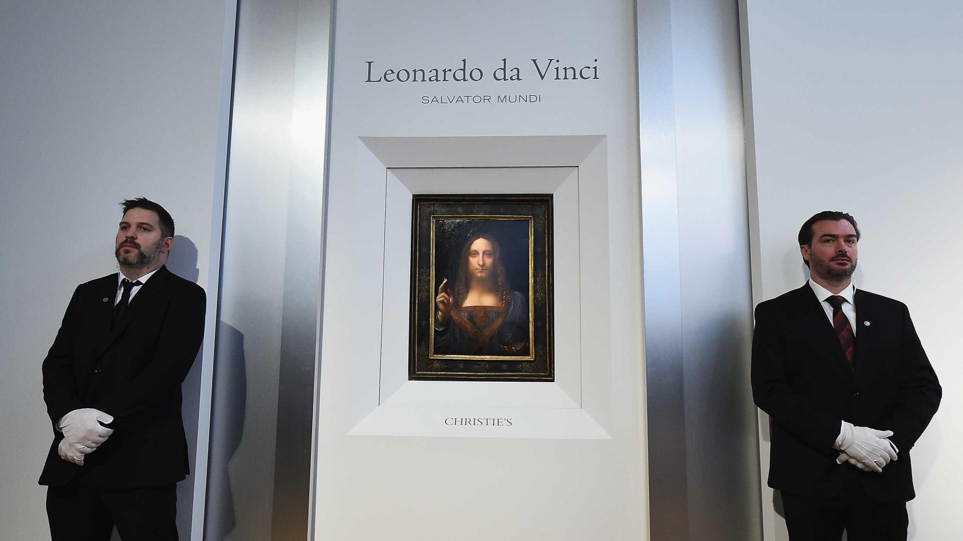 Pintura atribuída a Leonardo da Vinci vai a leilão