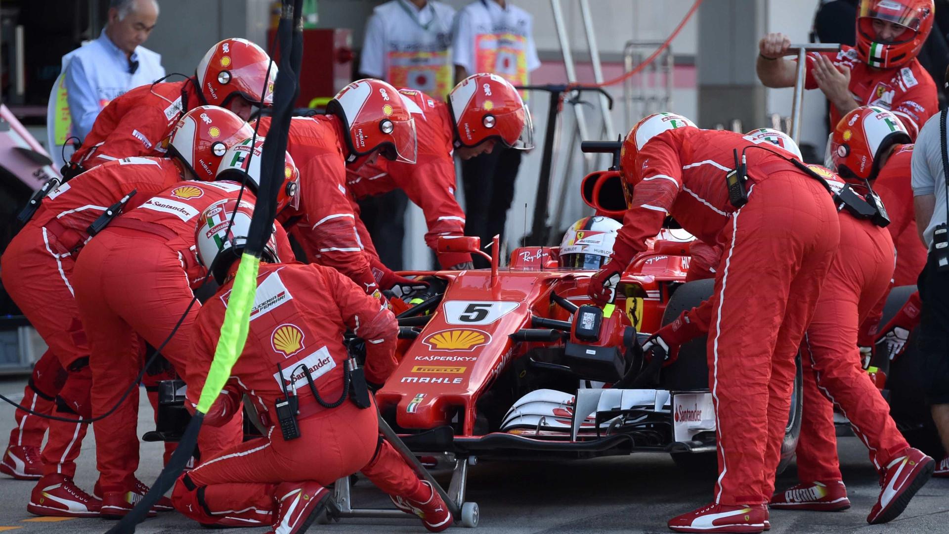 A peça de 58 euros que pode ter acabado com o sonho de Vettel