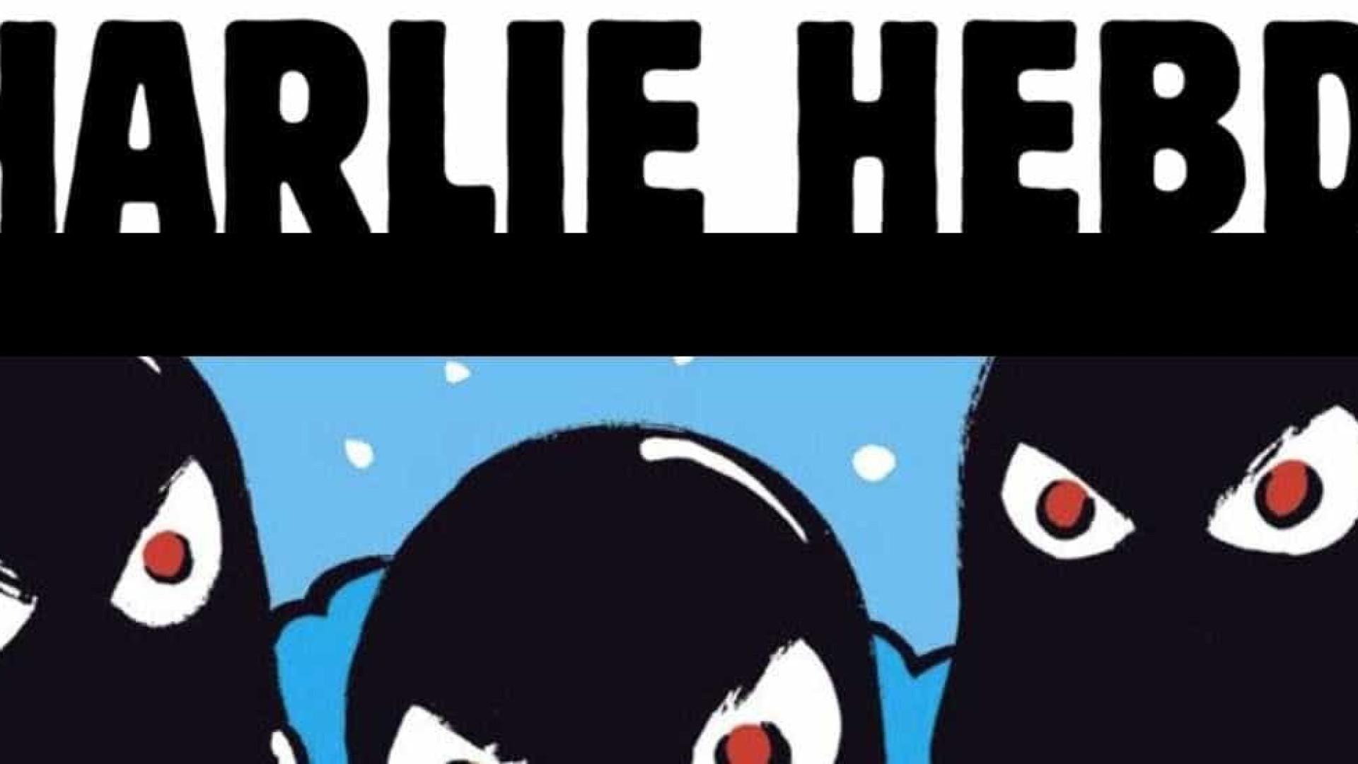 """Nova capa do Charlie Hebdo é sobre a Catalunha. """"Tolos"""""""