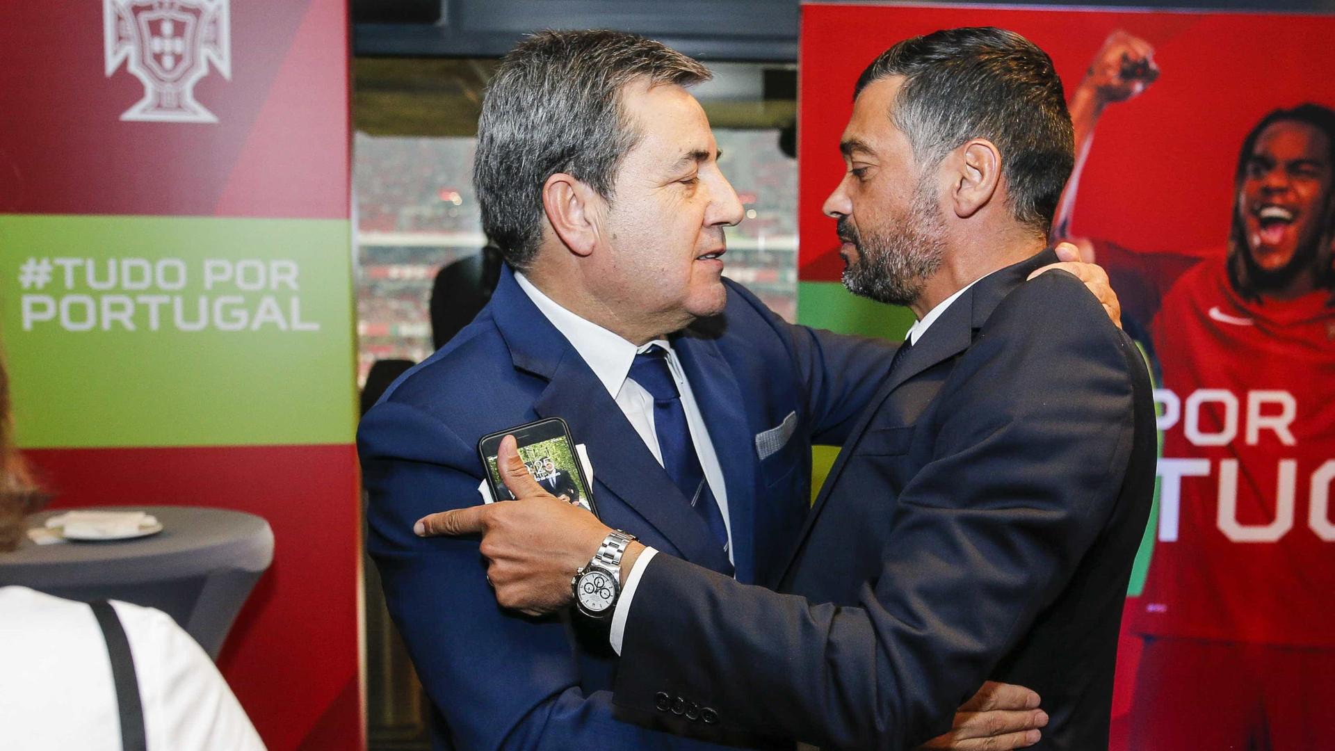As figuras do futebol português que testemunharam o apuramento da seleção