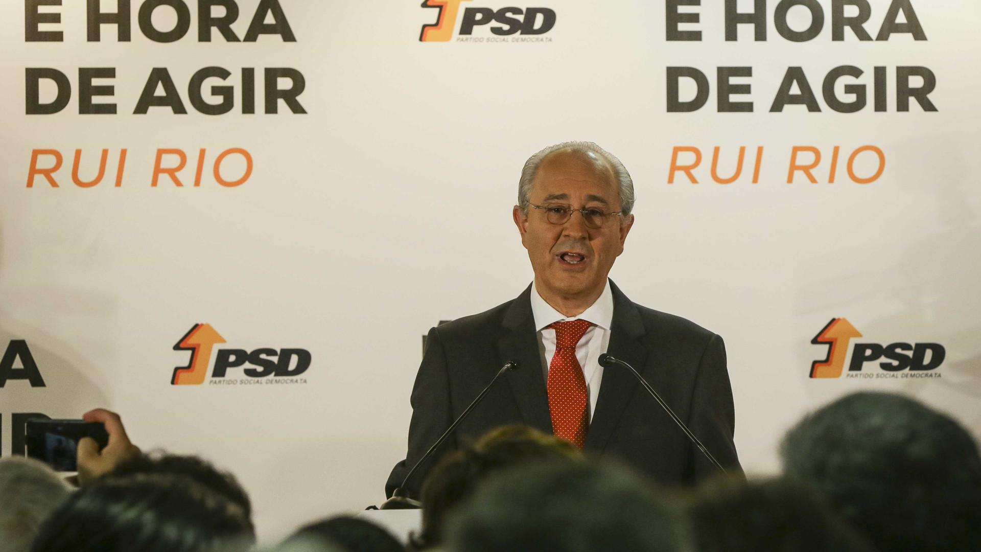 Rui Rio convoca Conselho Nacional para votar moção de confiança