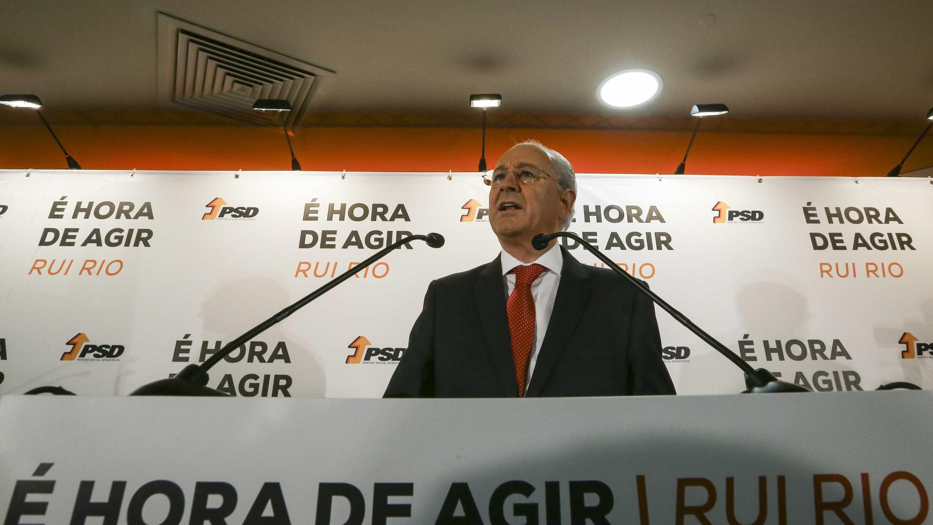 """Tancos: Rui Rio reitera que investigação criminal """"não se pode arrastar"""""""