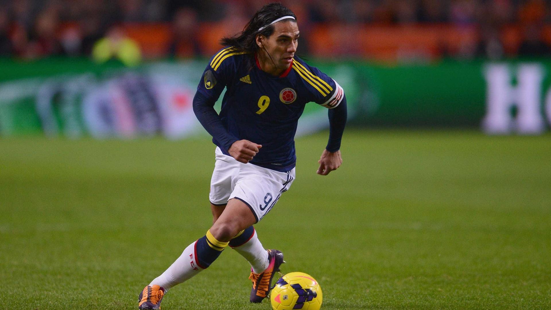 Peru-Colômbia: Falcao admite ter discutido o resultado com Renato Tapia
