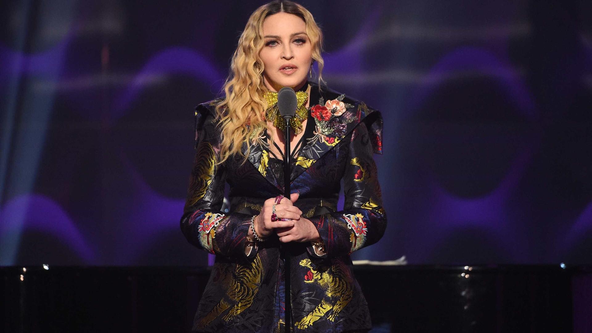 """Madonna confessa: """"Triste em Lisboa"""""""