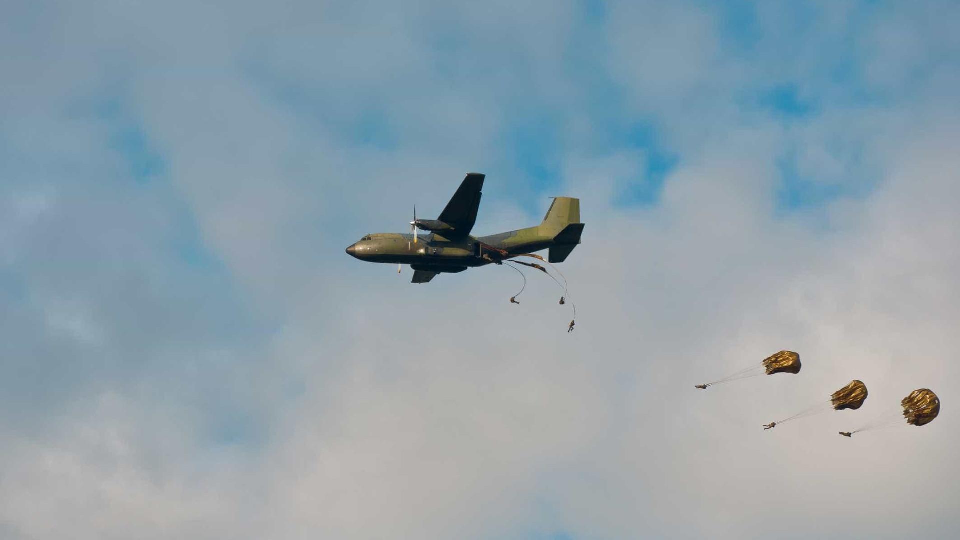 Paraquedista internado na quinta apresenta prognóstico muito favorável