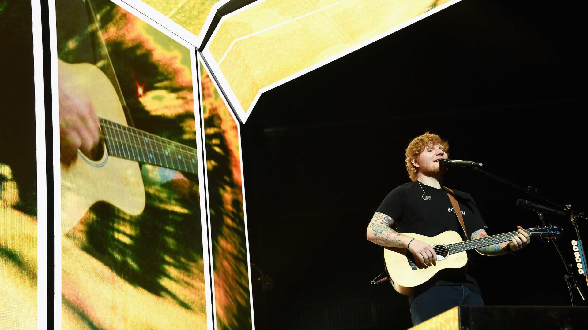 Após ser atropelado, Ed Sheeran obrigado a cancelar concertos