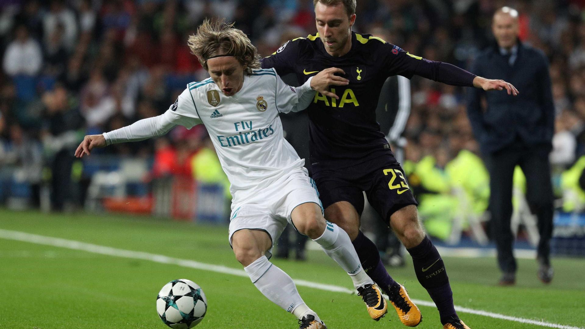 Real Madrid quer Eriksen no lugar de Modric 1084d7bb0d1f8