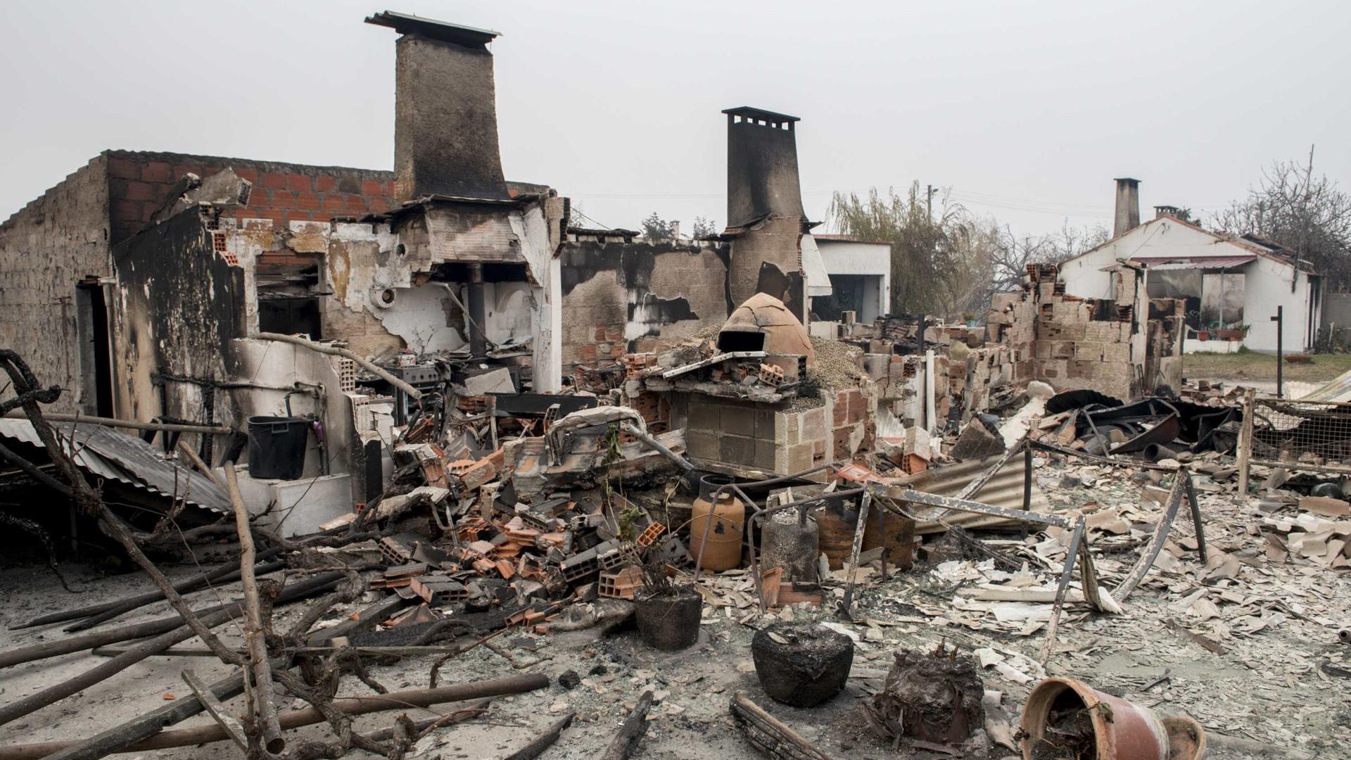 Grandes fogos de 2017 causaram perdas superiores a mil milhões de euros