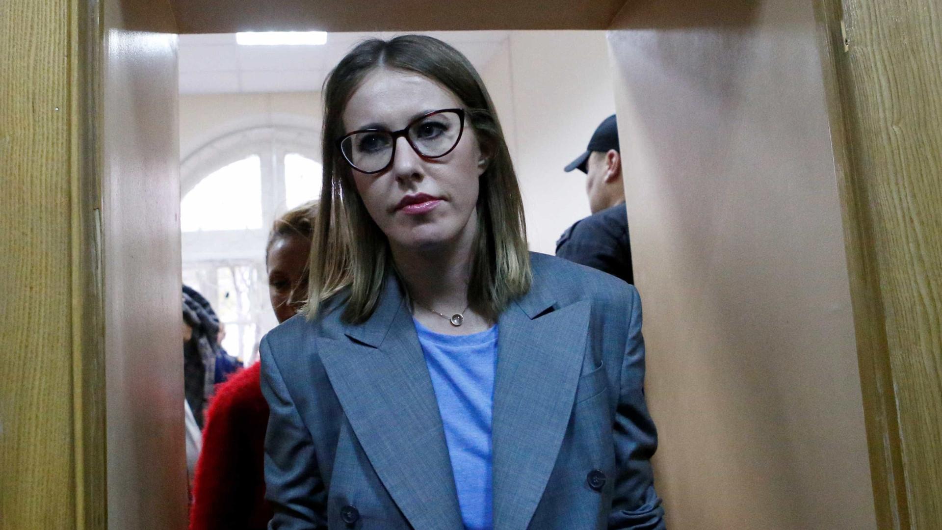 Estrela russa candidata-se à presidência