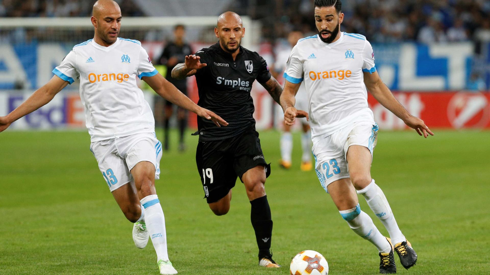 Da festa à desilusão, foi assim o duelo entre o Vitória SC e Marselha