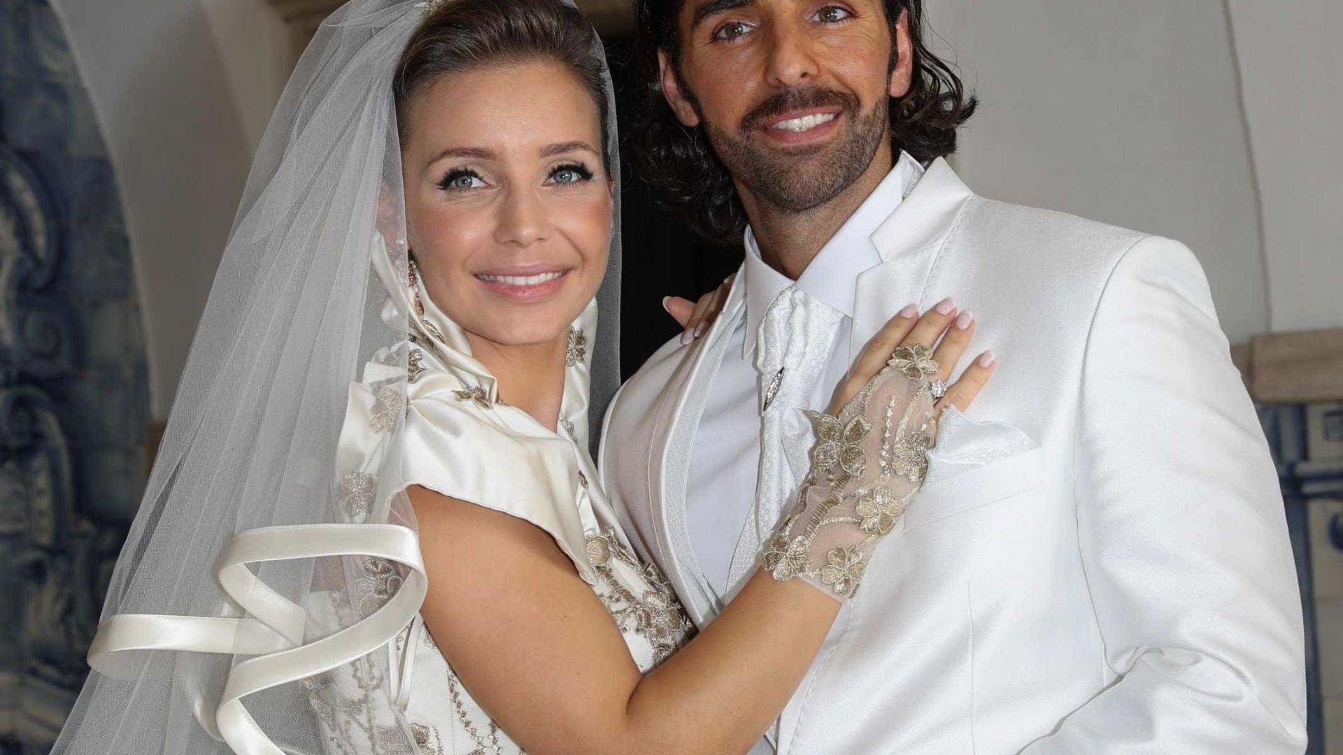 Luciana Abreu esteve sozinha no dia do casamento? Eis a resposta