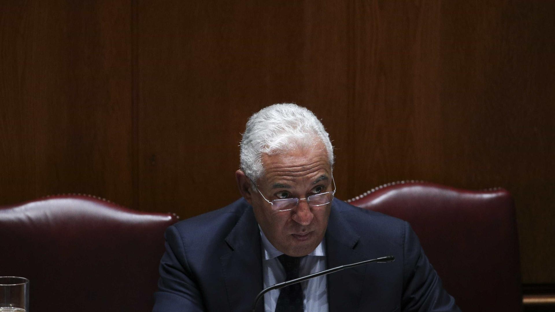 """António Costa admite """"desagradável surpresa"""" com défice da Madeira"""