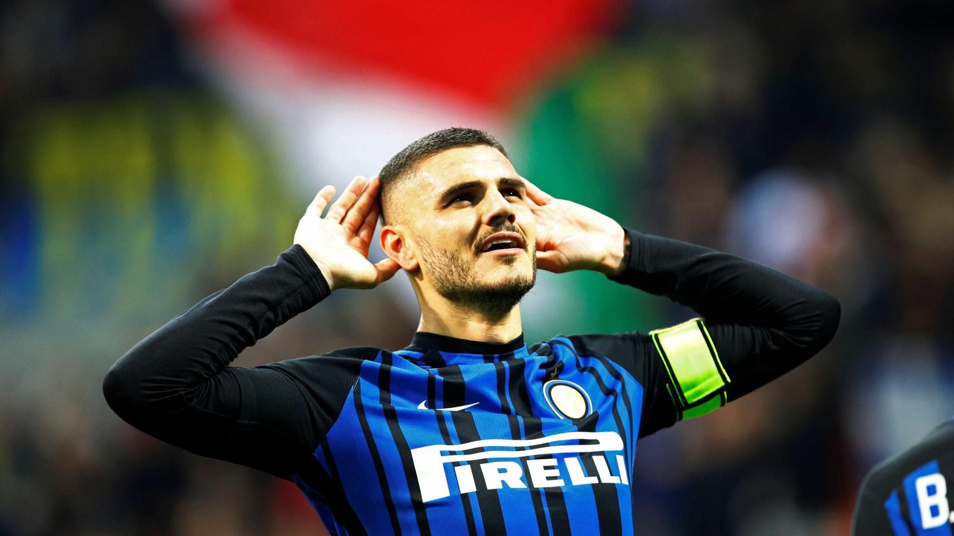 Inter bate Sampdoria e pressiona Nápoles