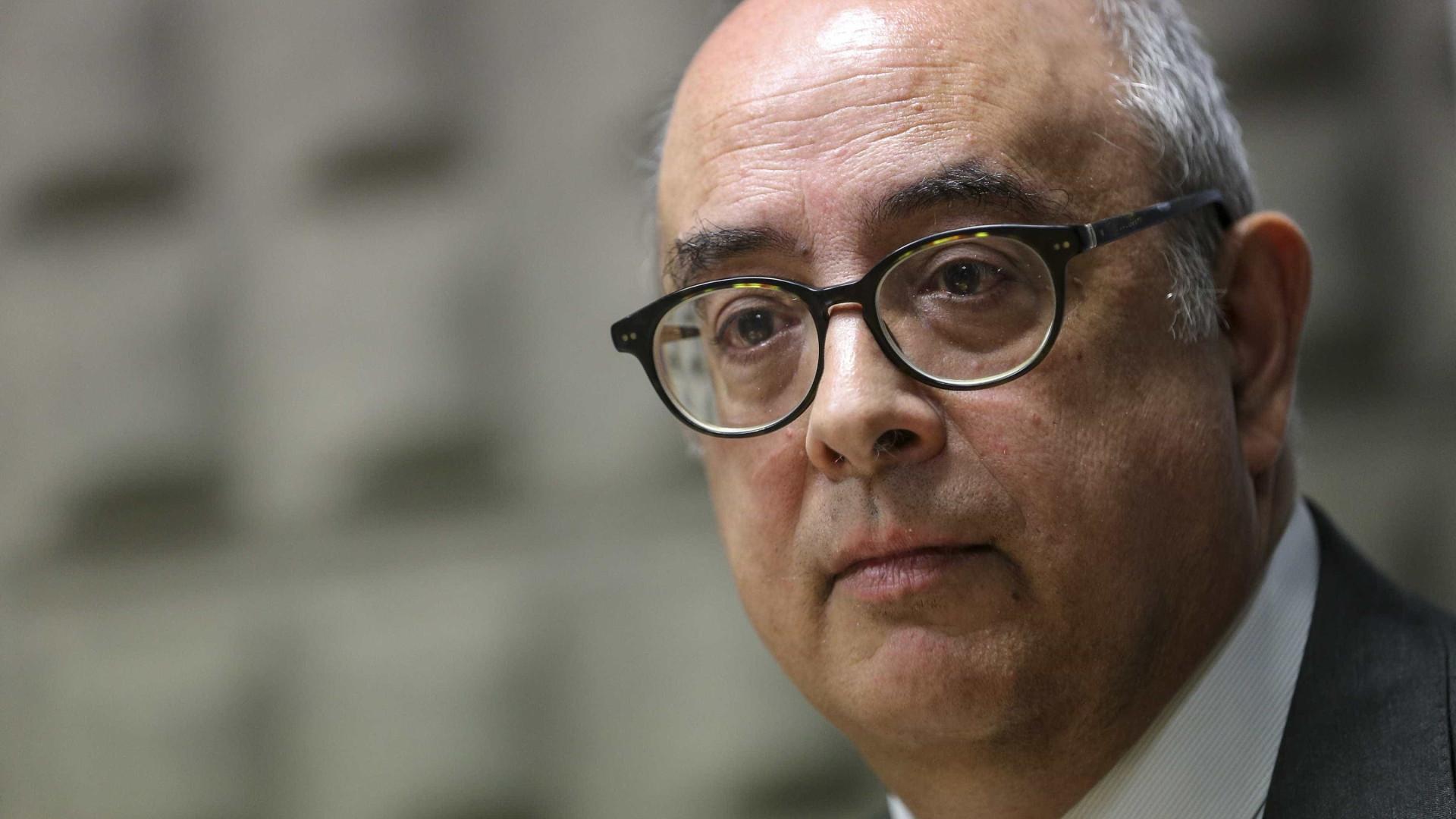 """Azeredo Lopes considera """"excelente notícia"""" nomeação de novo embaixador"""