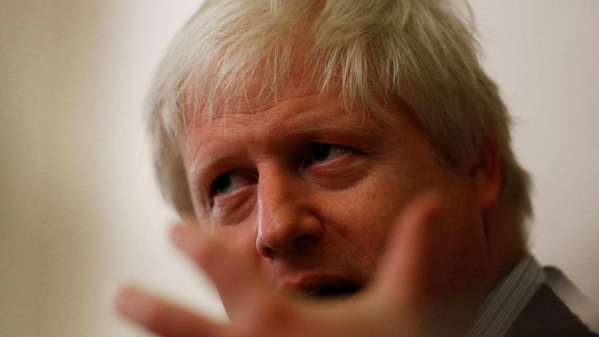 """Boris Johnson diz que """"não é demasiado tarde para salvar 'brexit'"""""""
