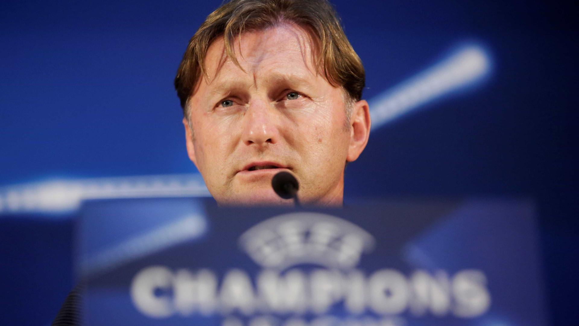 Ralph Hasenhuttl demite-se do Leipzig com mais um ano de contrato