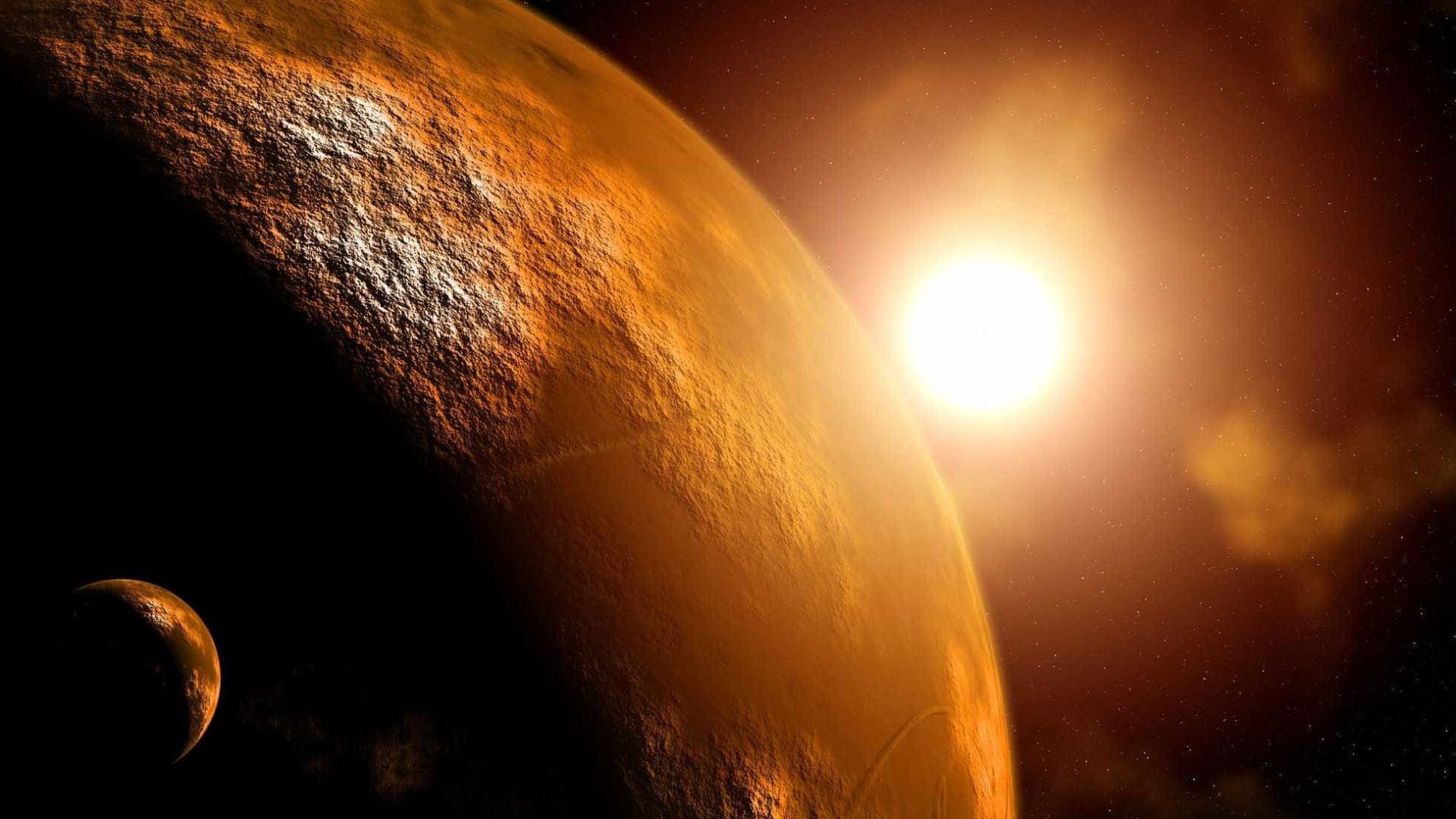 Acreditava ter descoberto um novo corpo celeste. Afinal, era apenas Marte