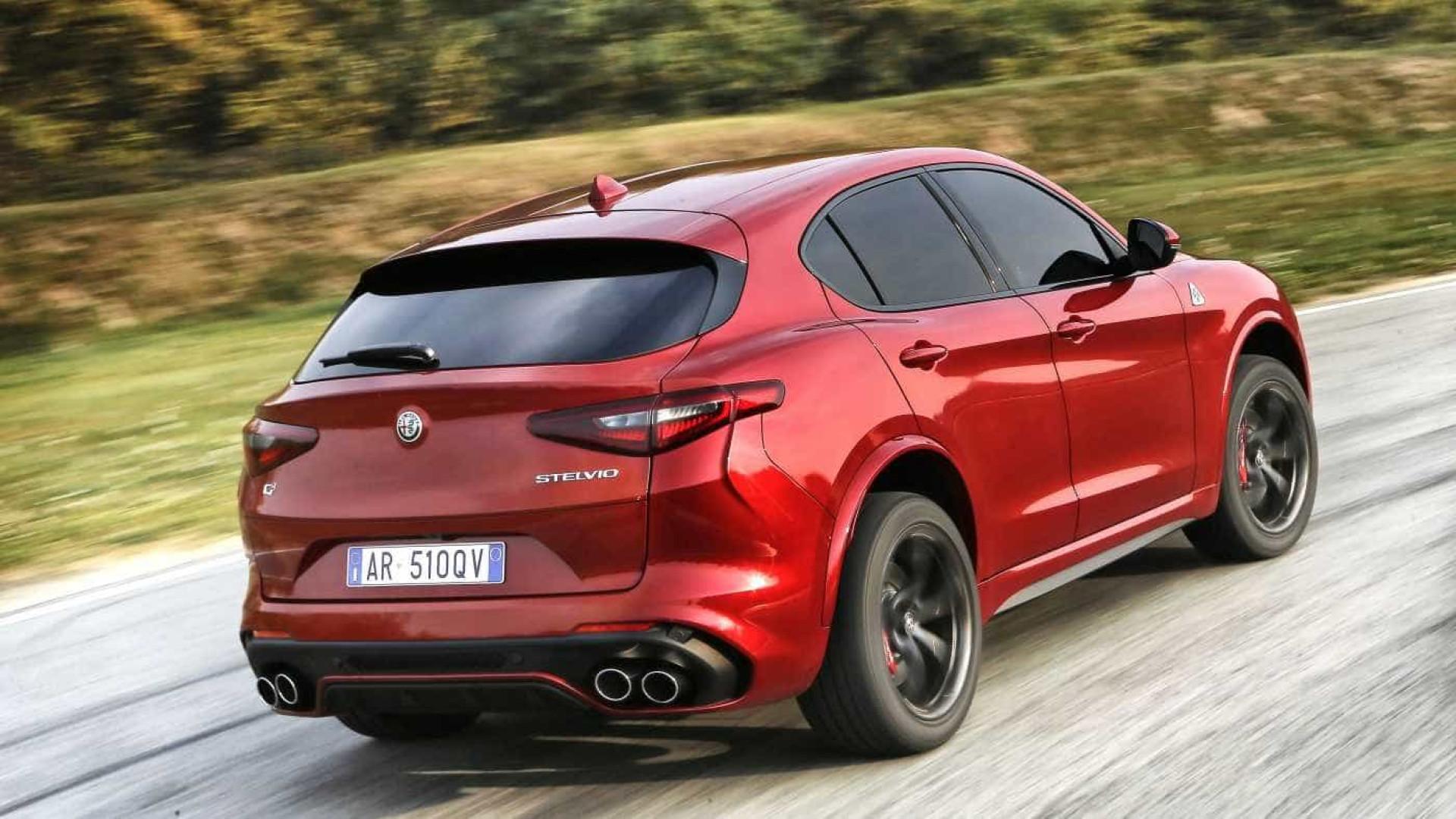 Alfa Romeo Stelvio Quadrifoglio considerado o SUV de 2018