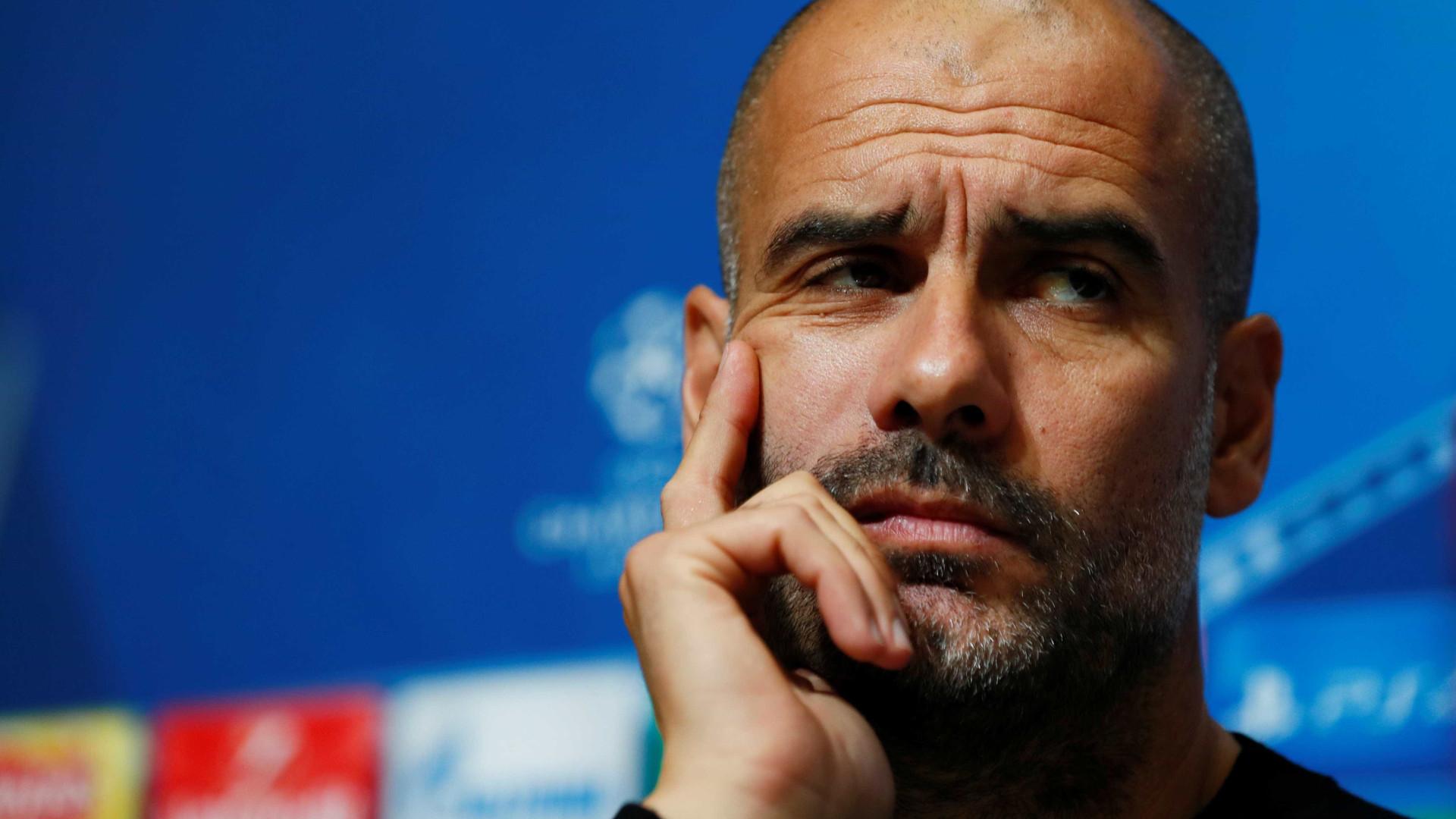 Guardiola usa os Óscares para explicar sucesso do Manchester City