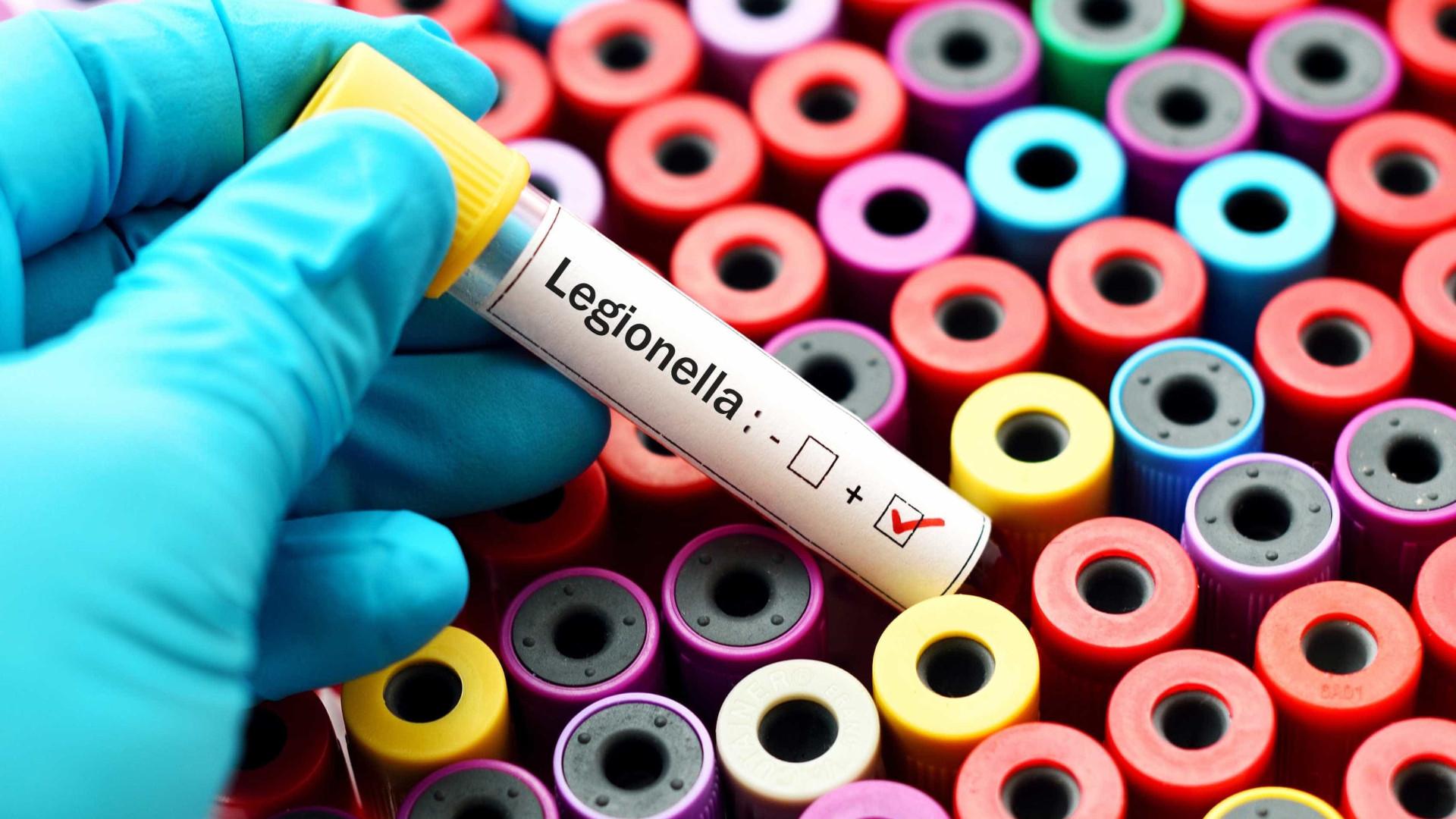 Legionella: Mais dois doentes diagnosticados. São já 56 casos