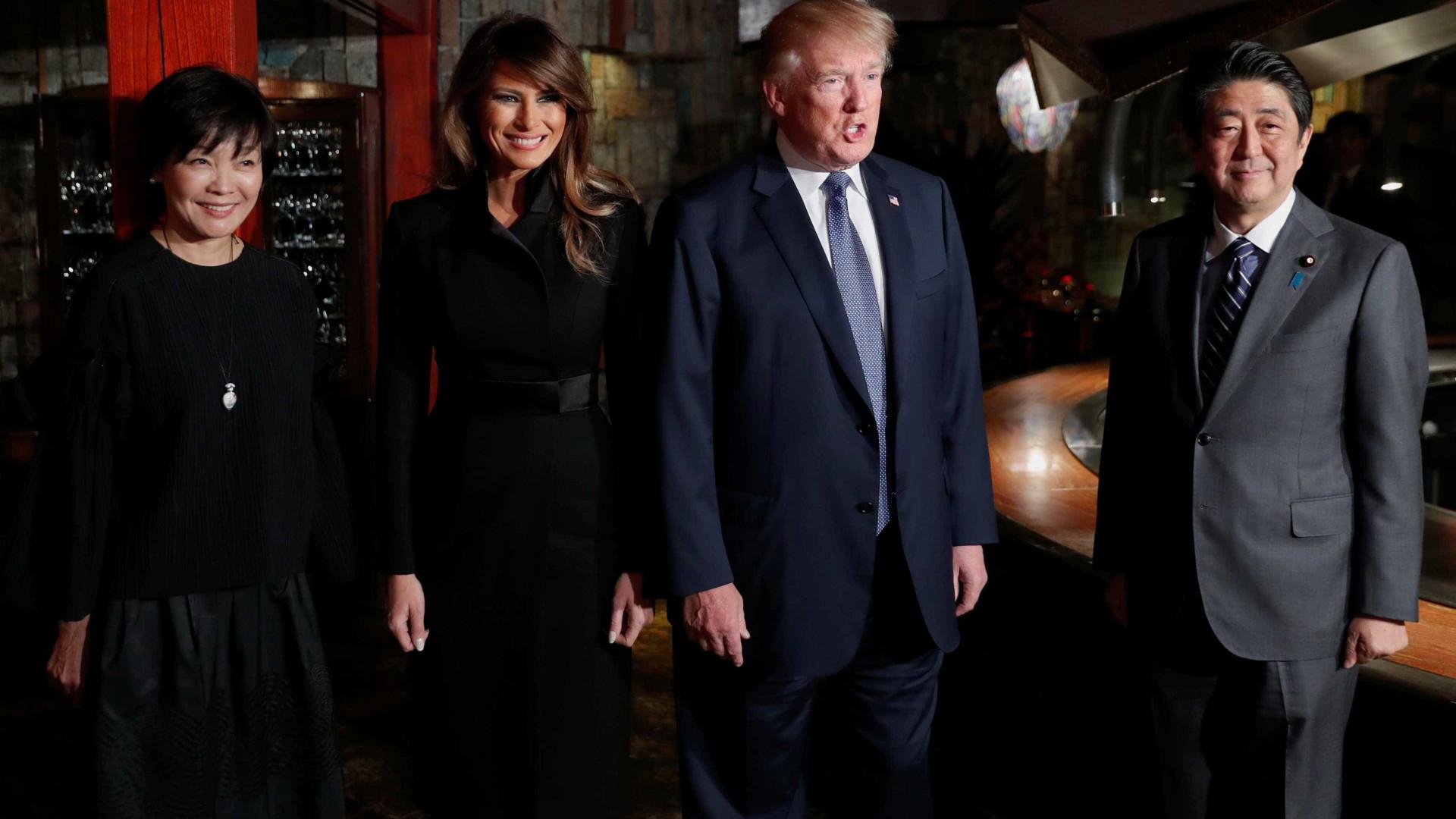 Visita de Trump à Coreia do Sul deixa todos nervosos na região