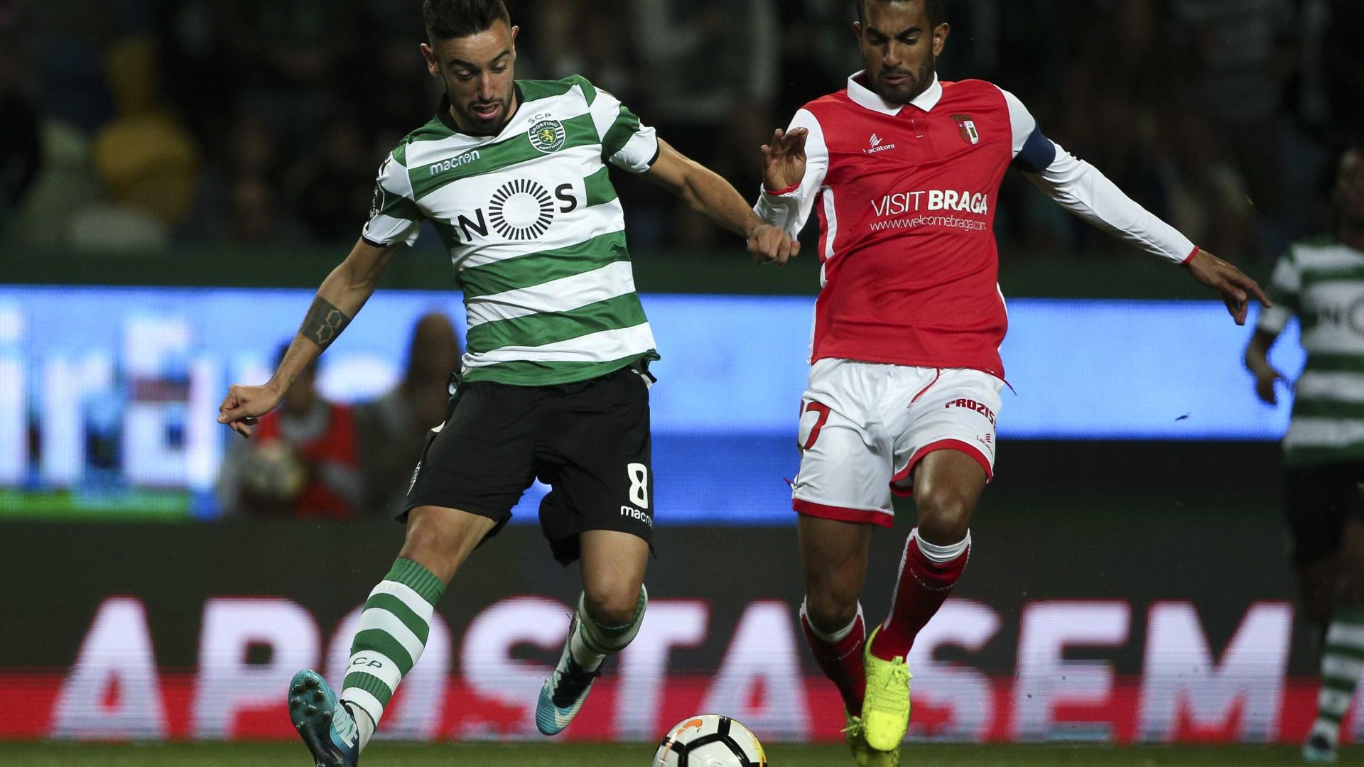 SC Braga empata em Alvalade
