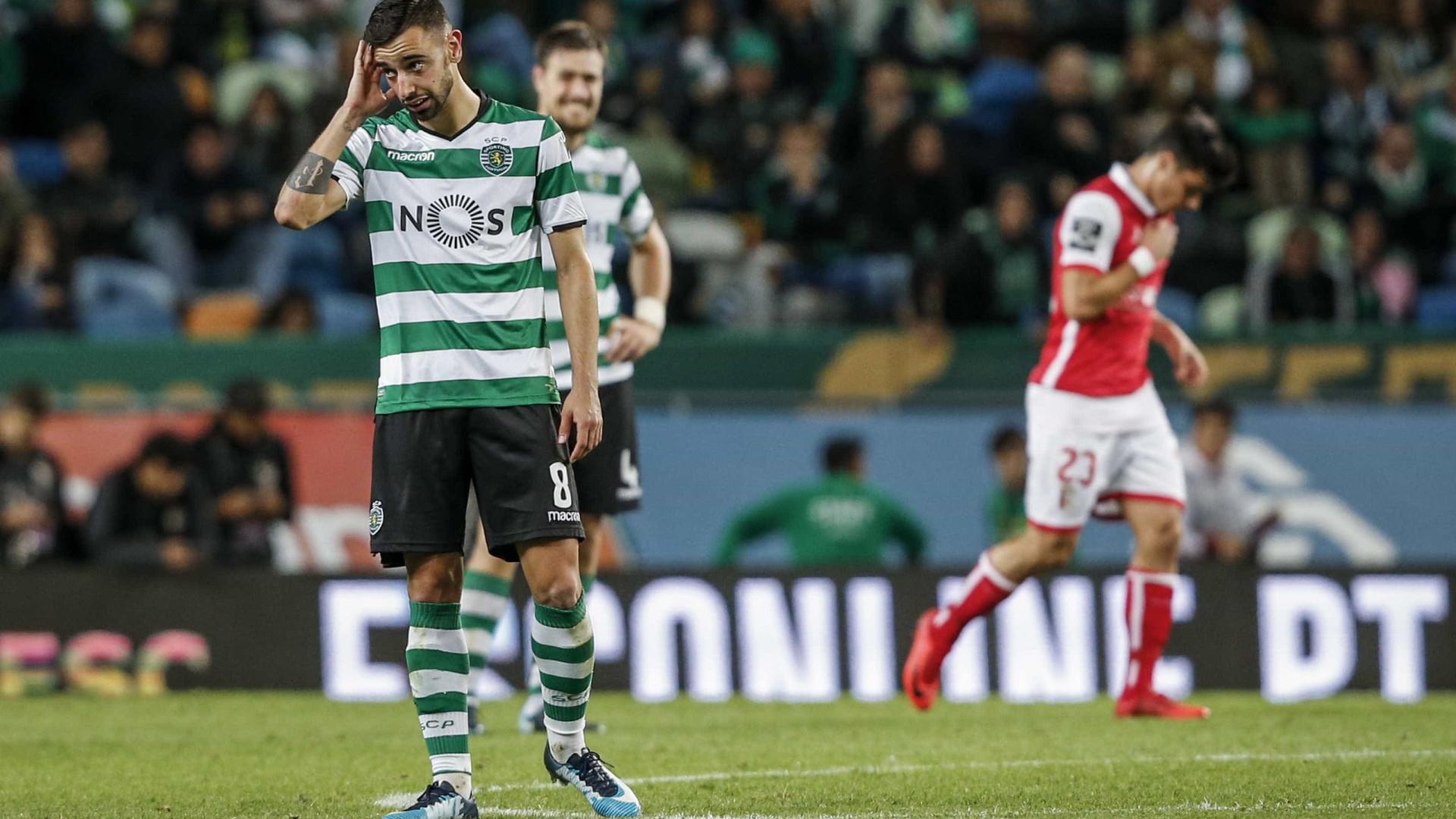 Sporting-Sp. Braga, 2-2 (destaques)