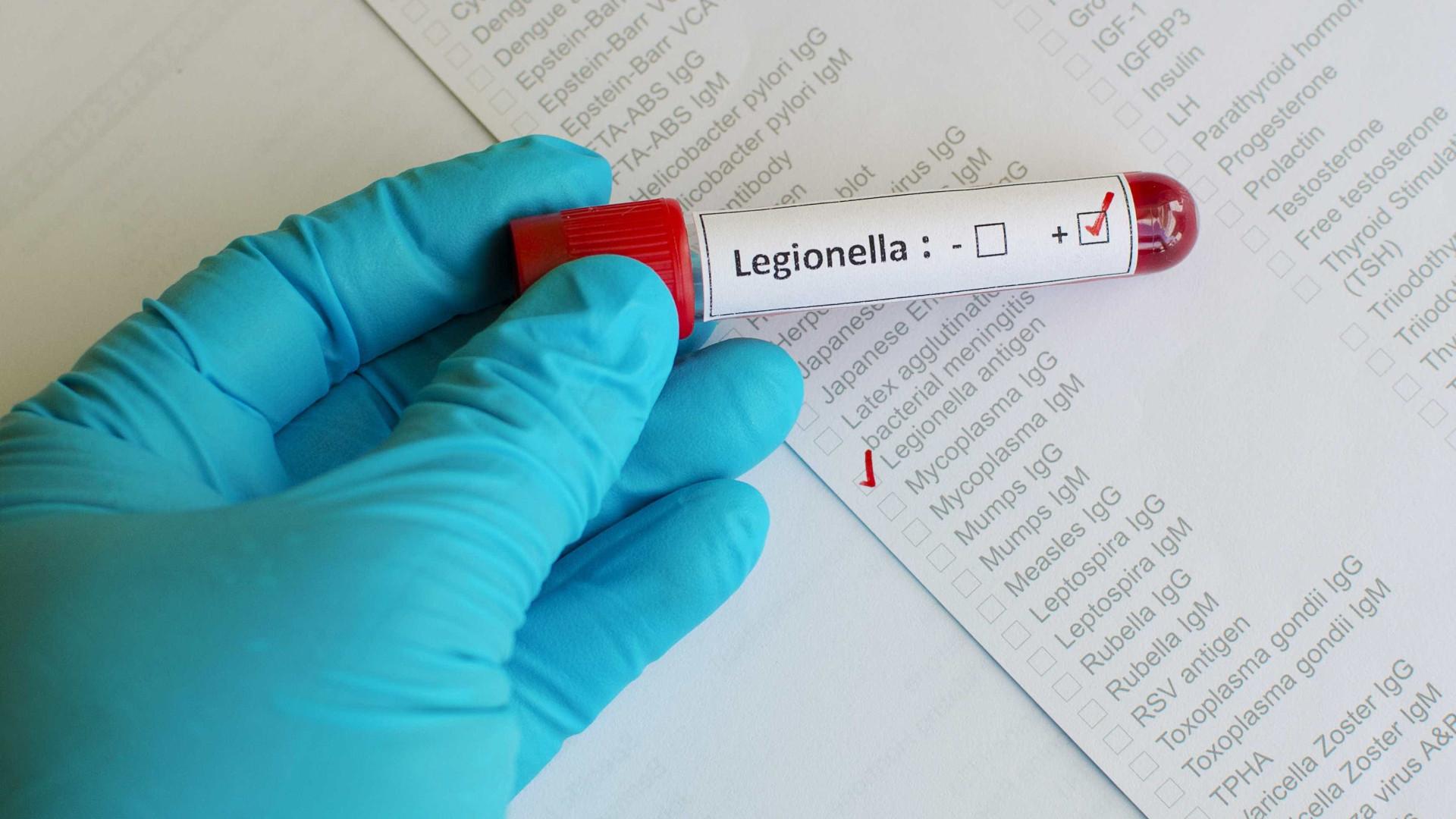 Aumenta para 48 o número de casos de Legionella