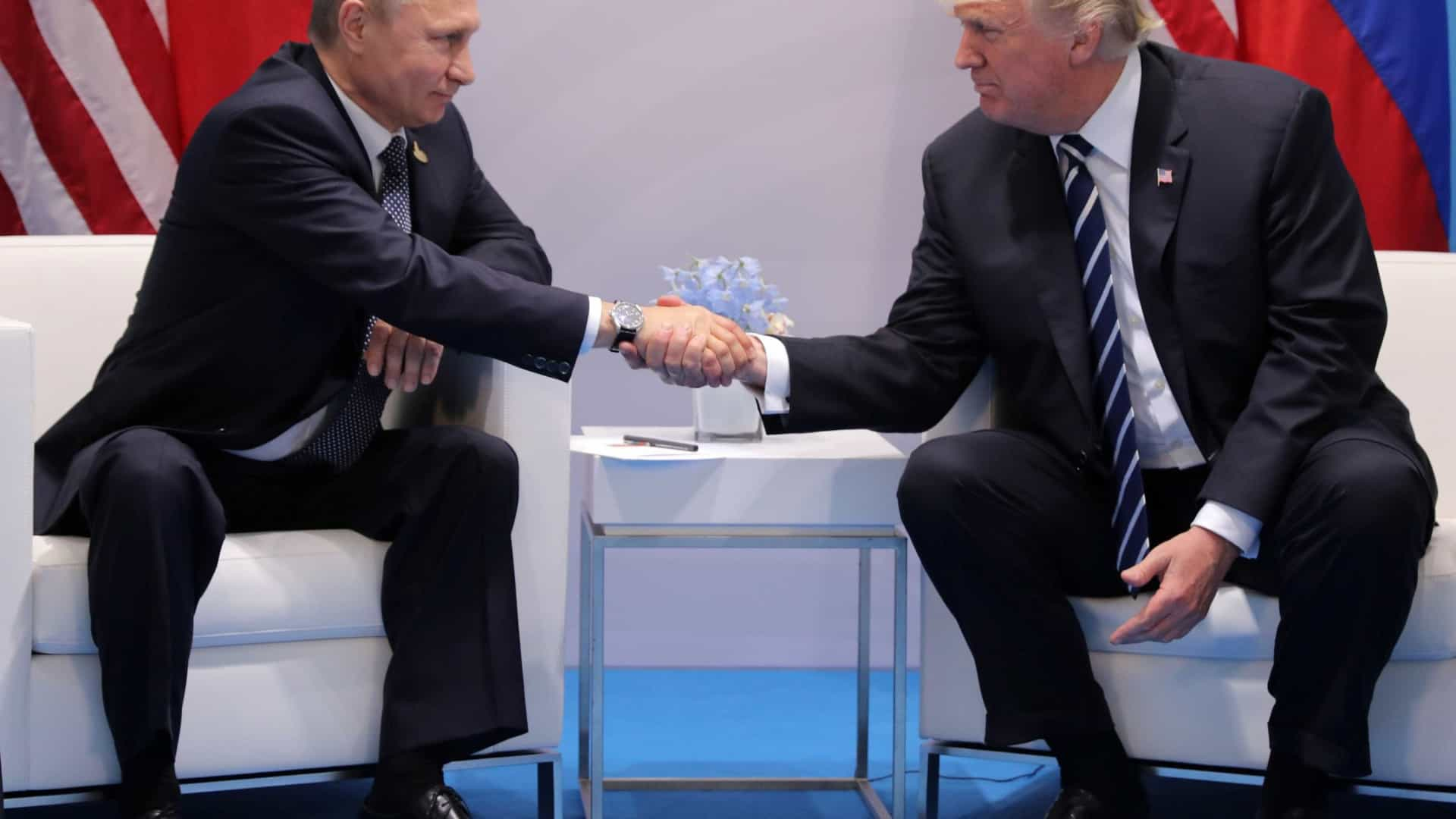 Casa Branca confirma encontro entre Donald Trump e Vladimir Putin