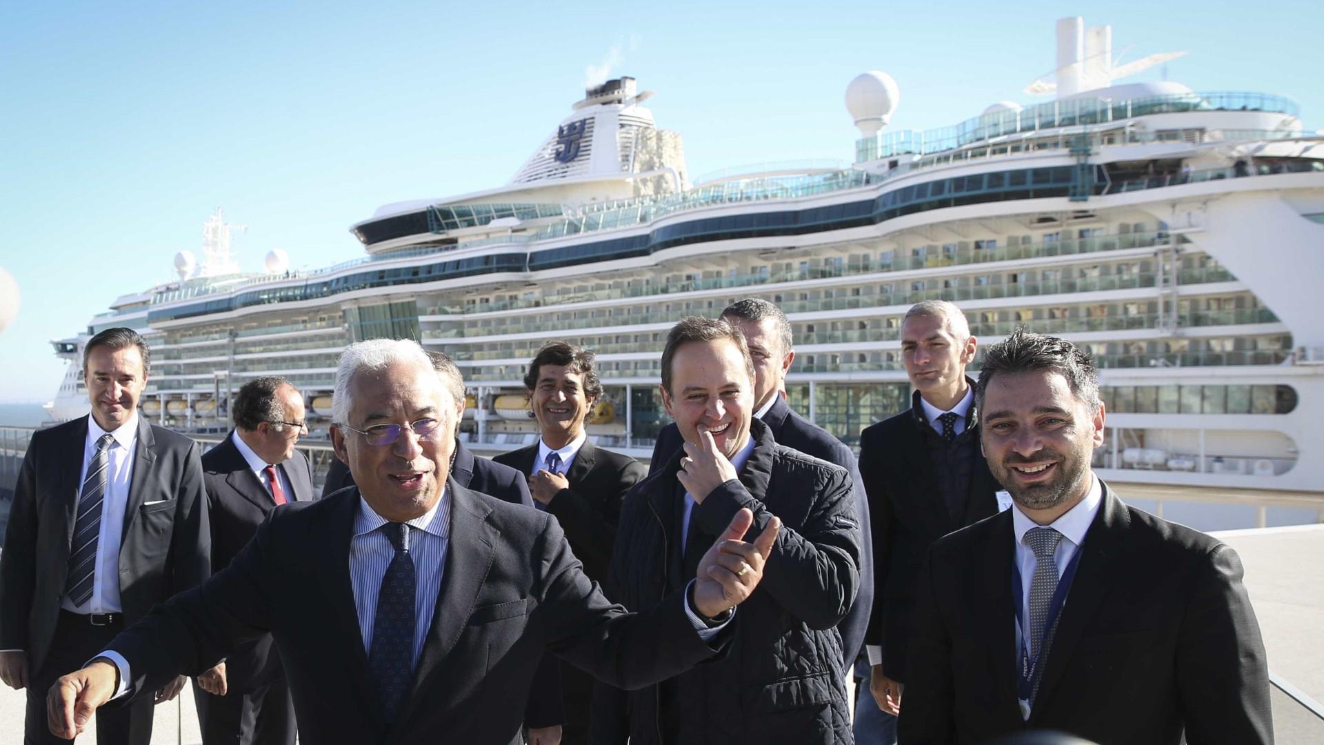 Cruzeiros preveem recordes em 2018 com o novo terminal em Lisboa